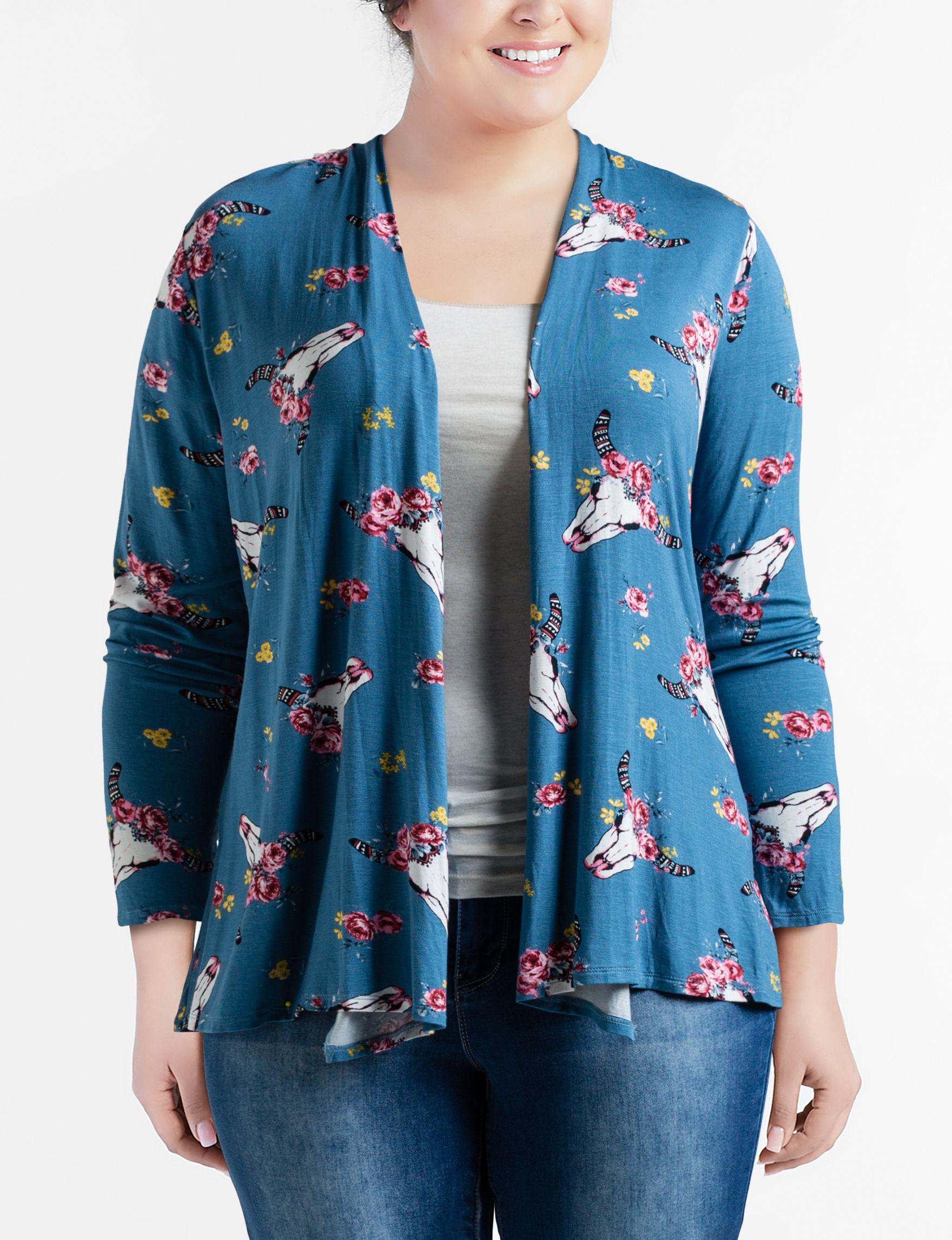 Liberty Love Blue Floral Cardigans