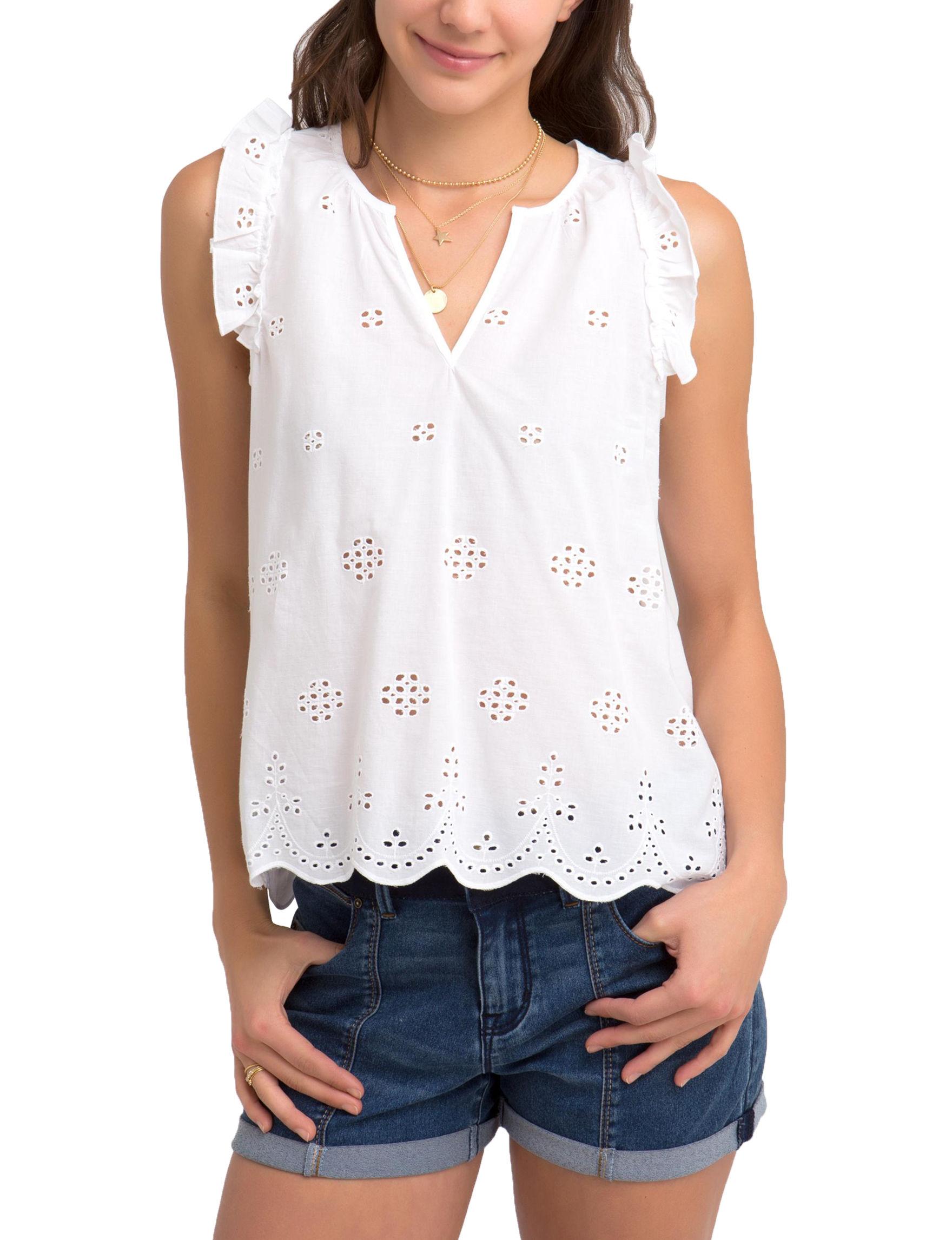 U.S. Polo Assn. White Shirts & Blouses