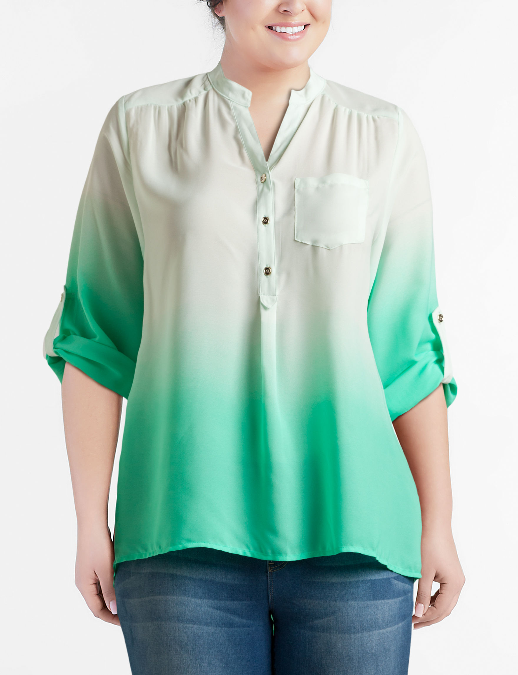Justify Mint Shirts & Blouses