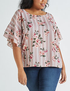 2b70ae3c70a2e Doorbuster Justify Rose Shirts   Blouses