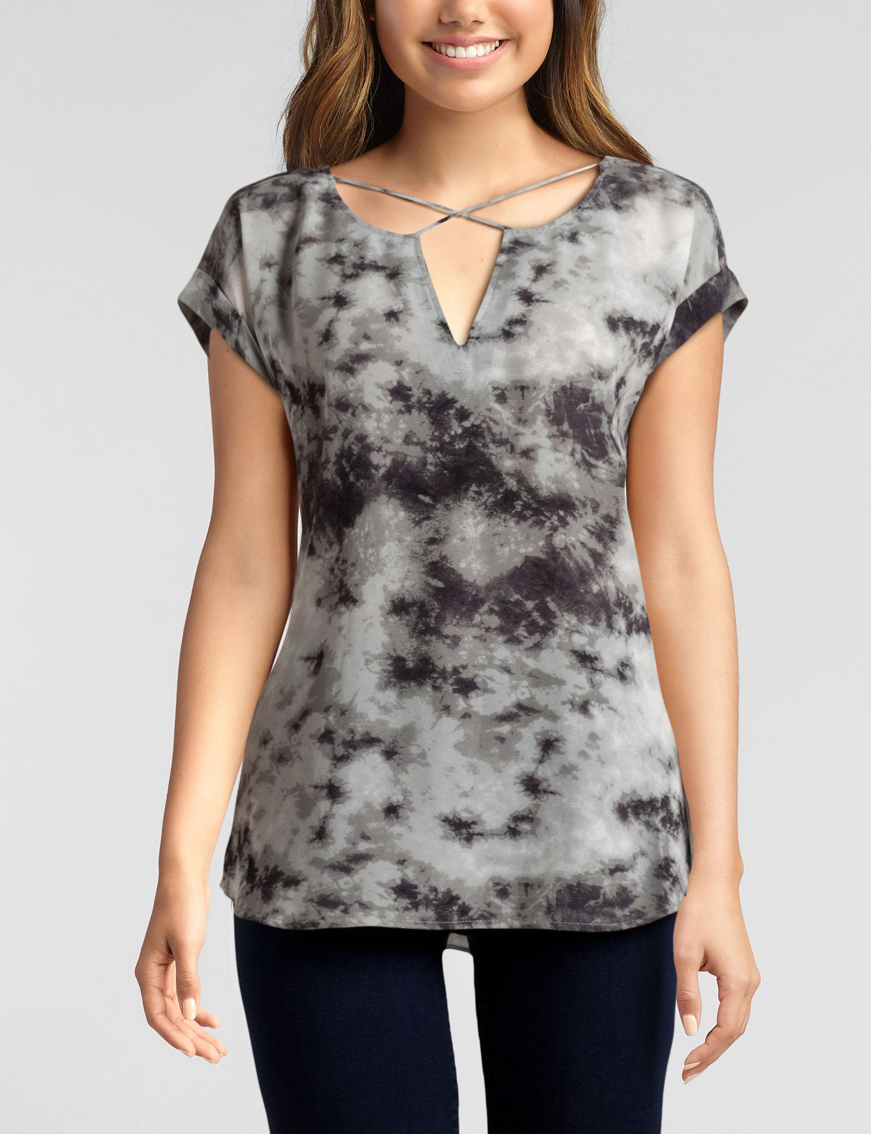 Wishful Park Grey Shirts & Blouses