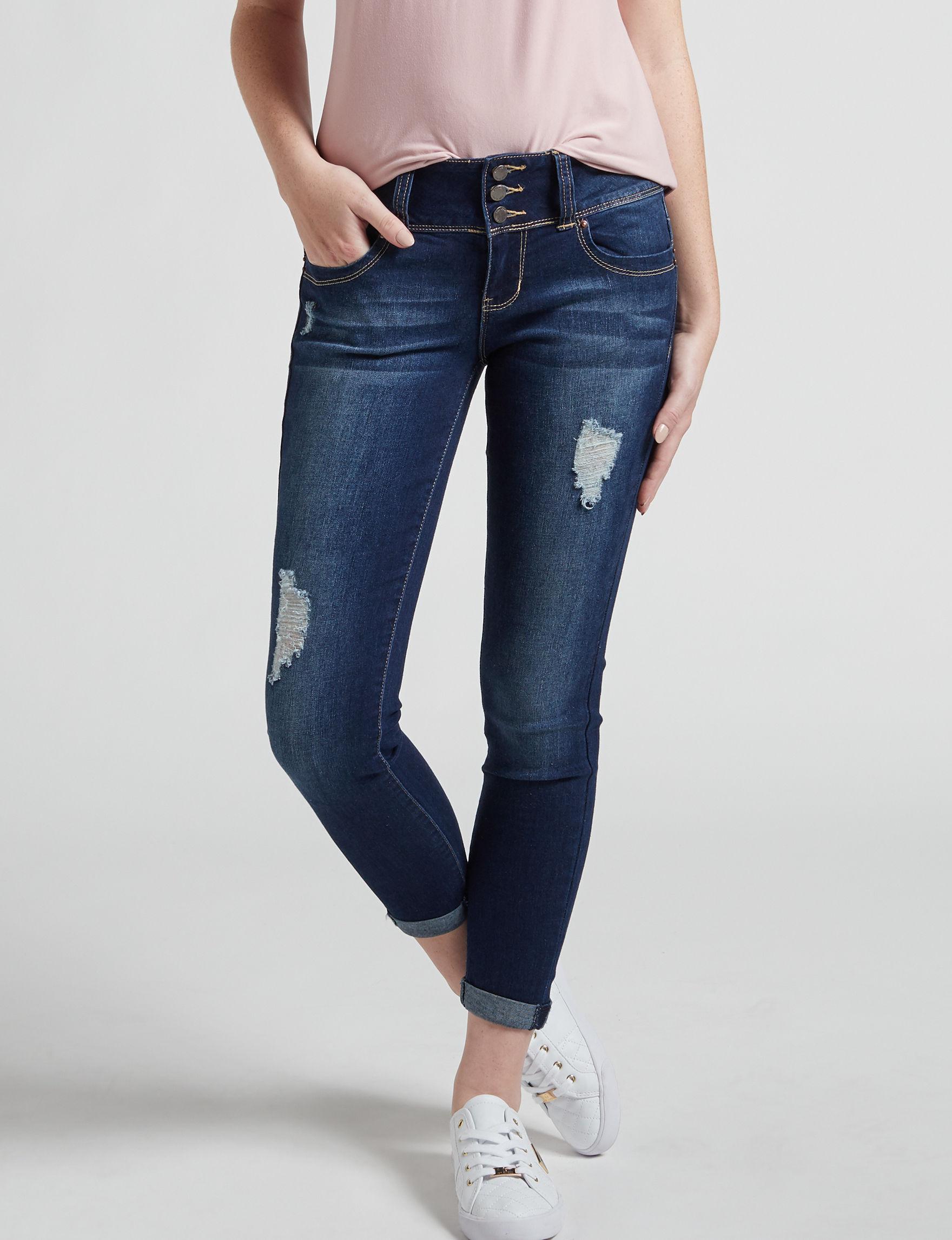 YMI Blue Shaping Skinny