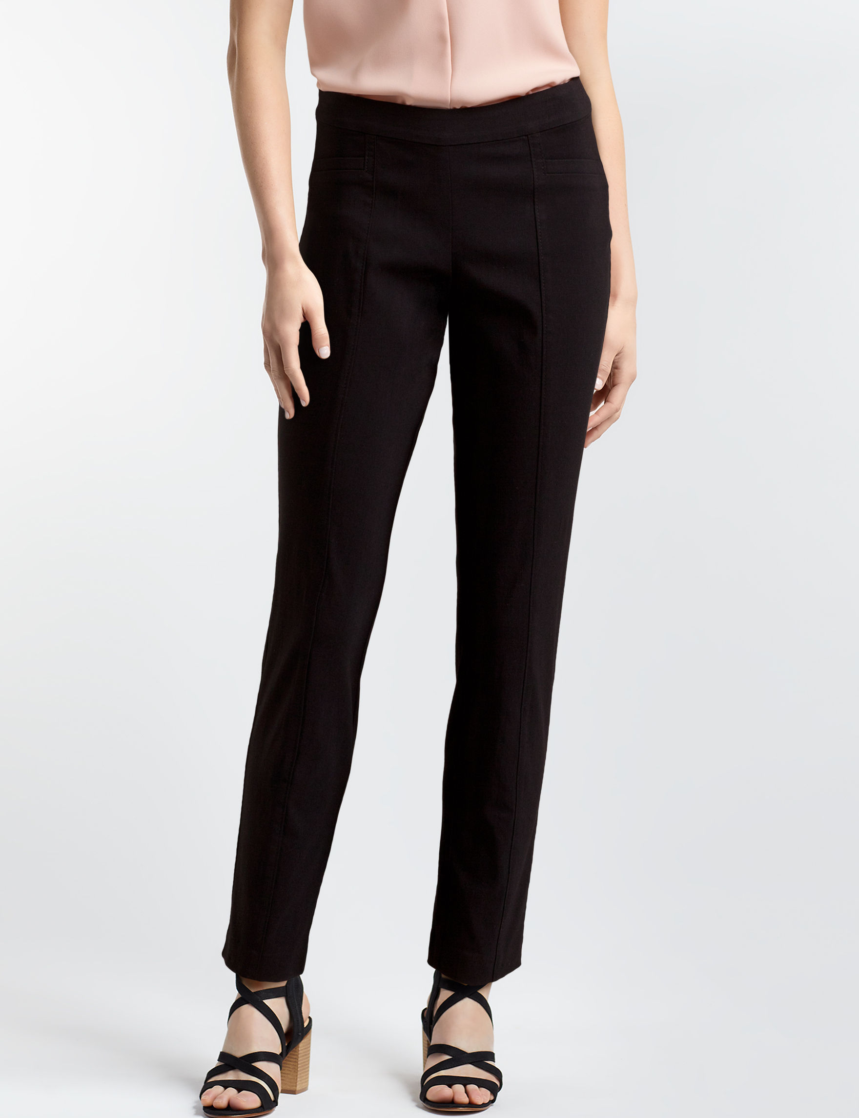 Leighton Black Skinny Stretch