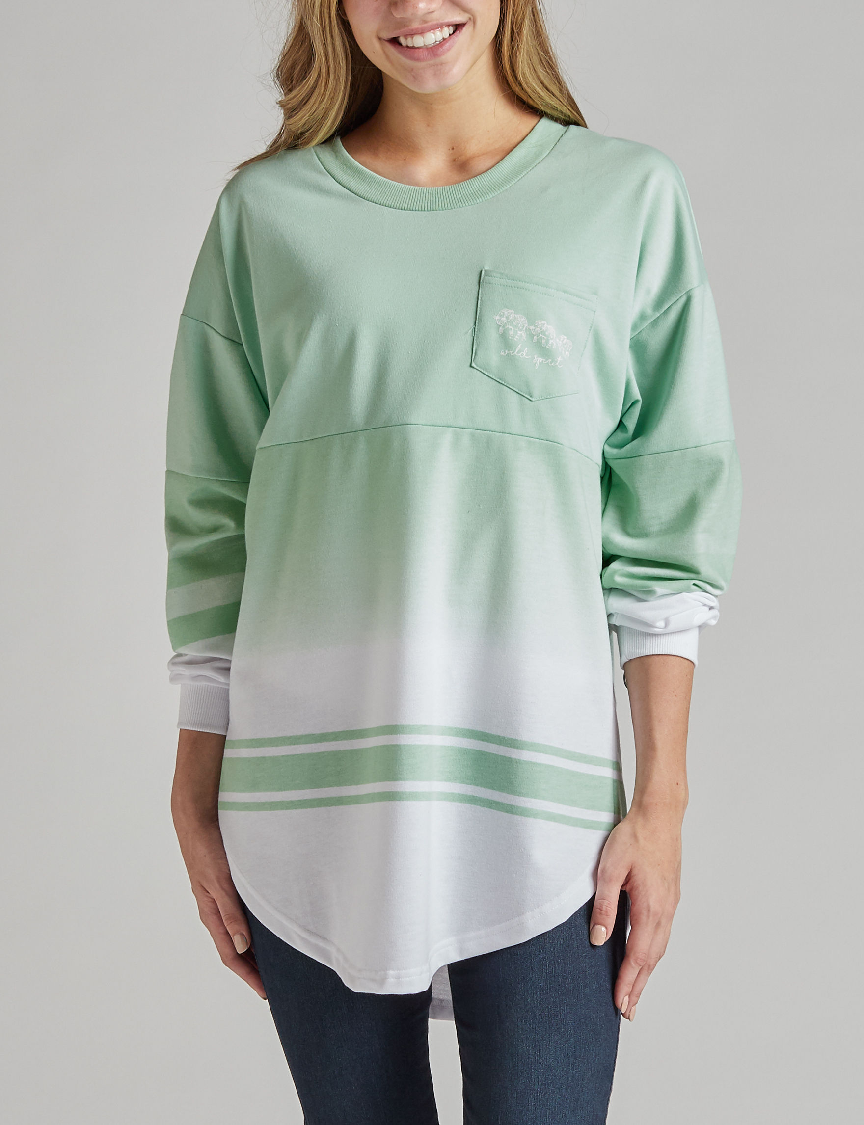 Justify Mint / White