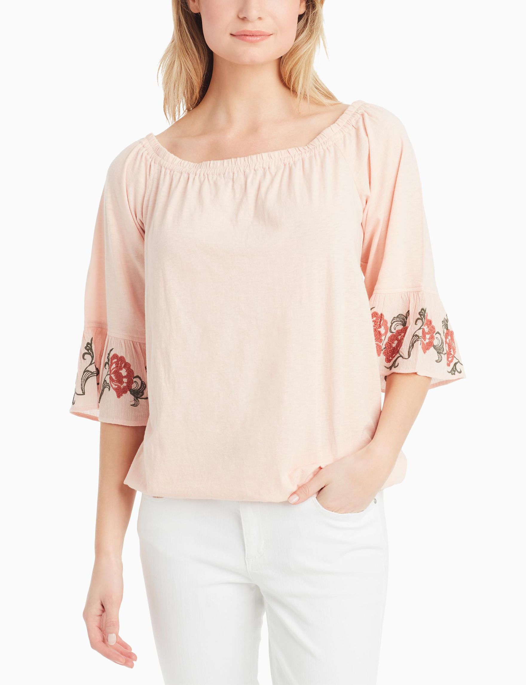 Jessica Simpson Light Pink Shirts & Blouses