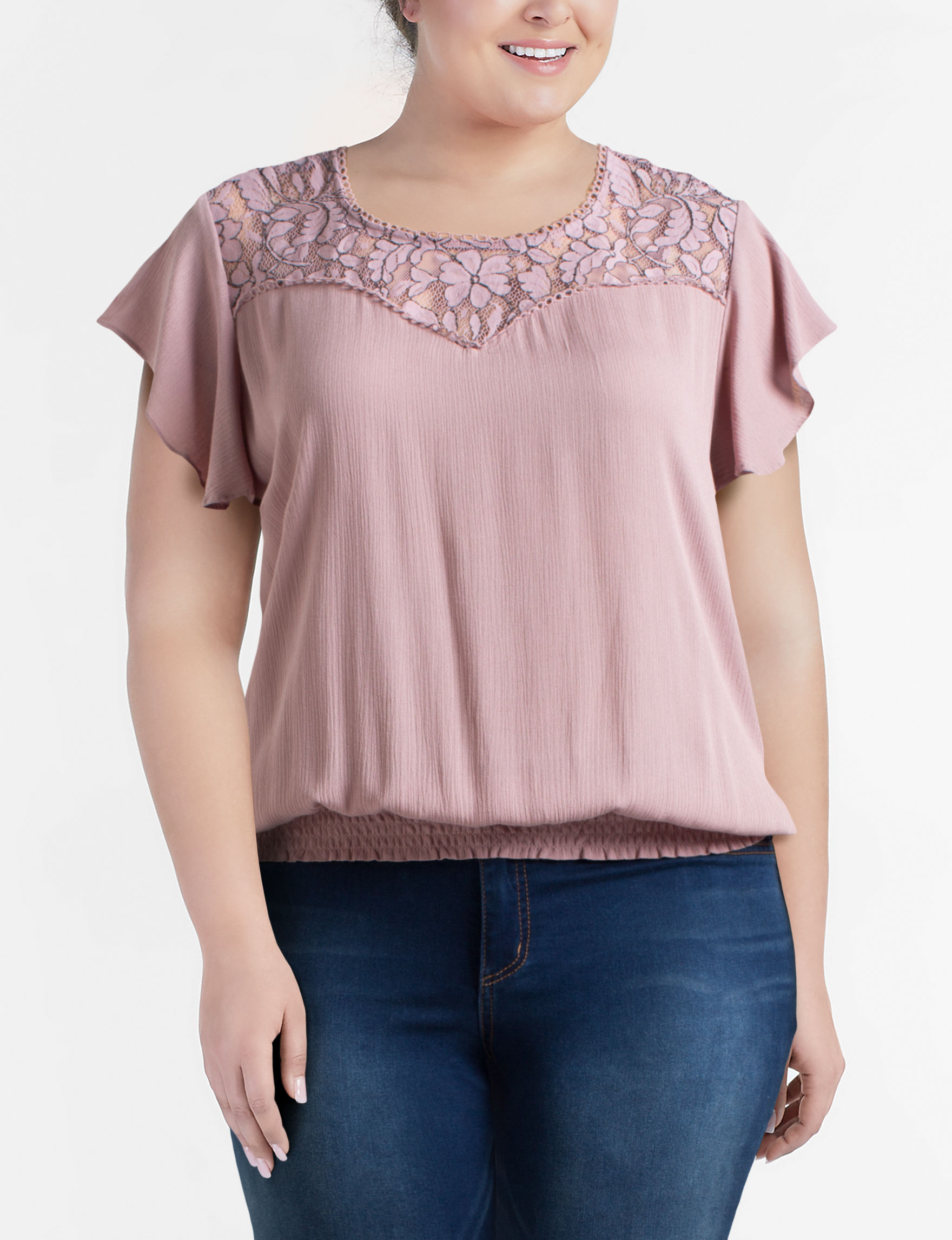 Liberty Love Mauve Shirts & Blouses
