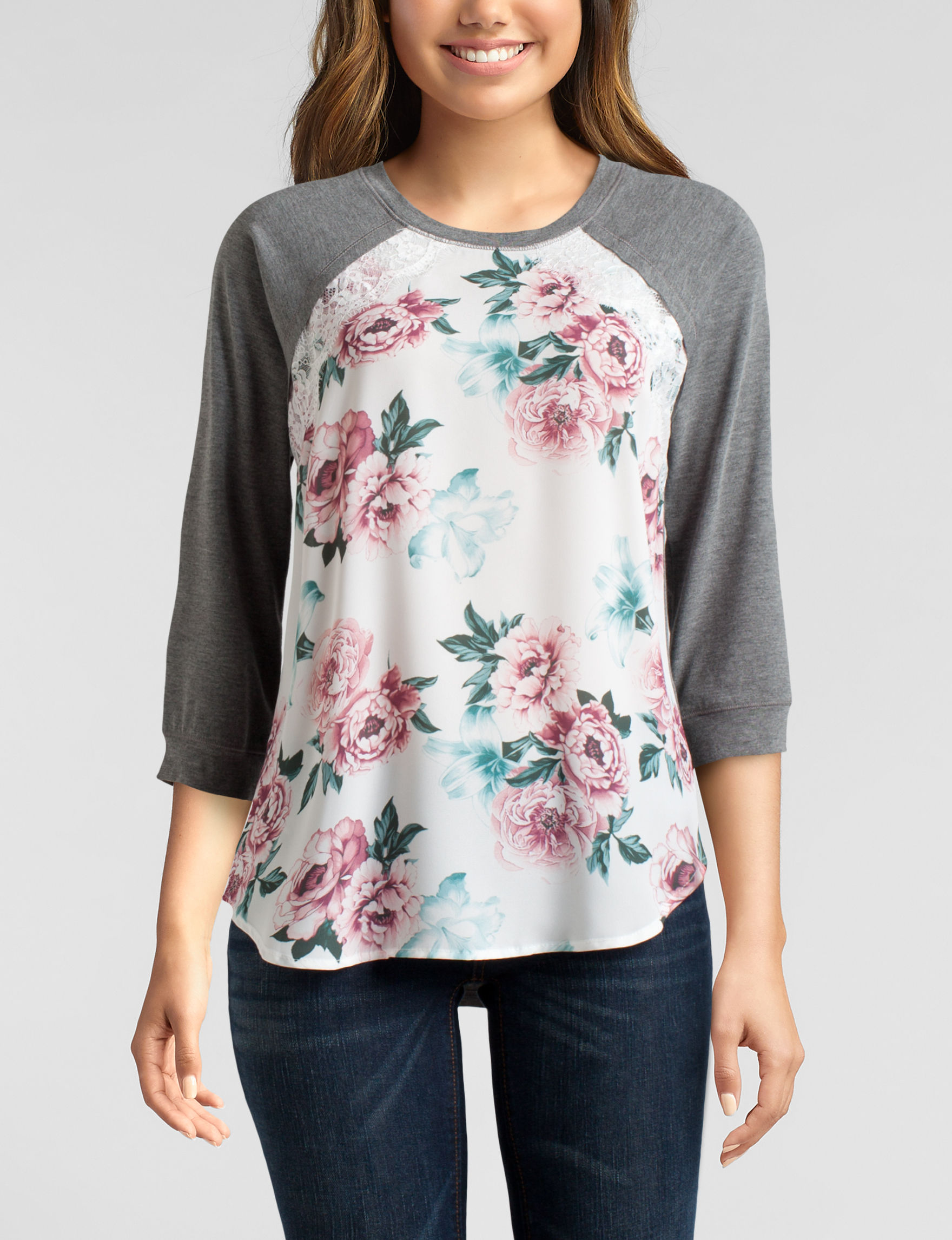 Justify Ivory Shirts & Blouses