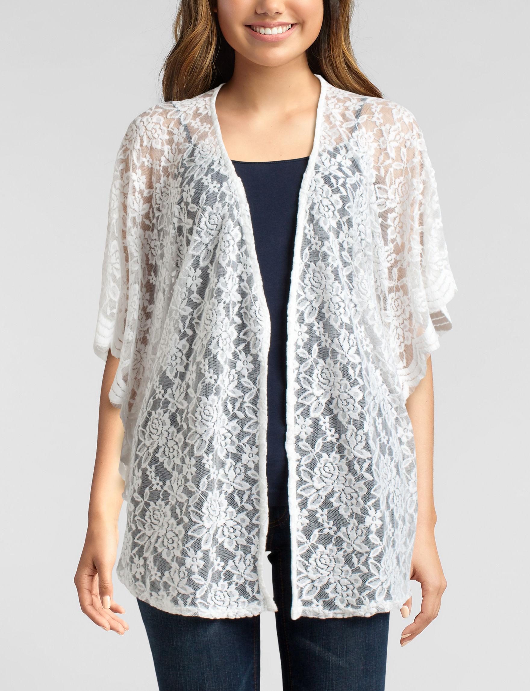 Liberty Love White Kimonos & Toppers