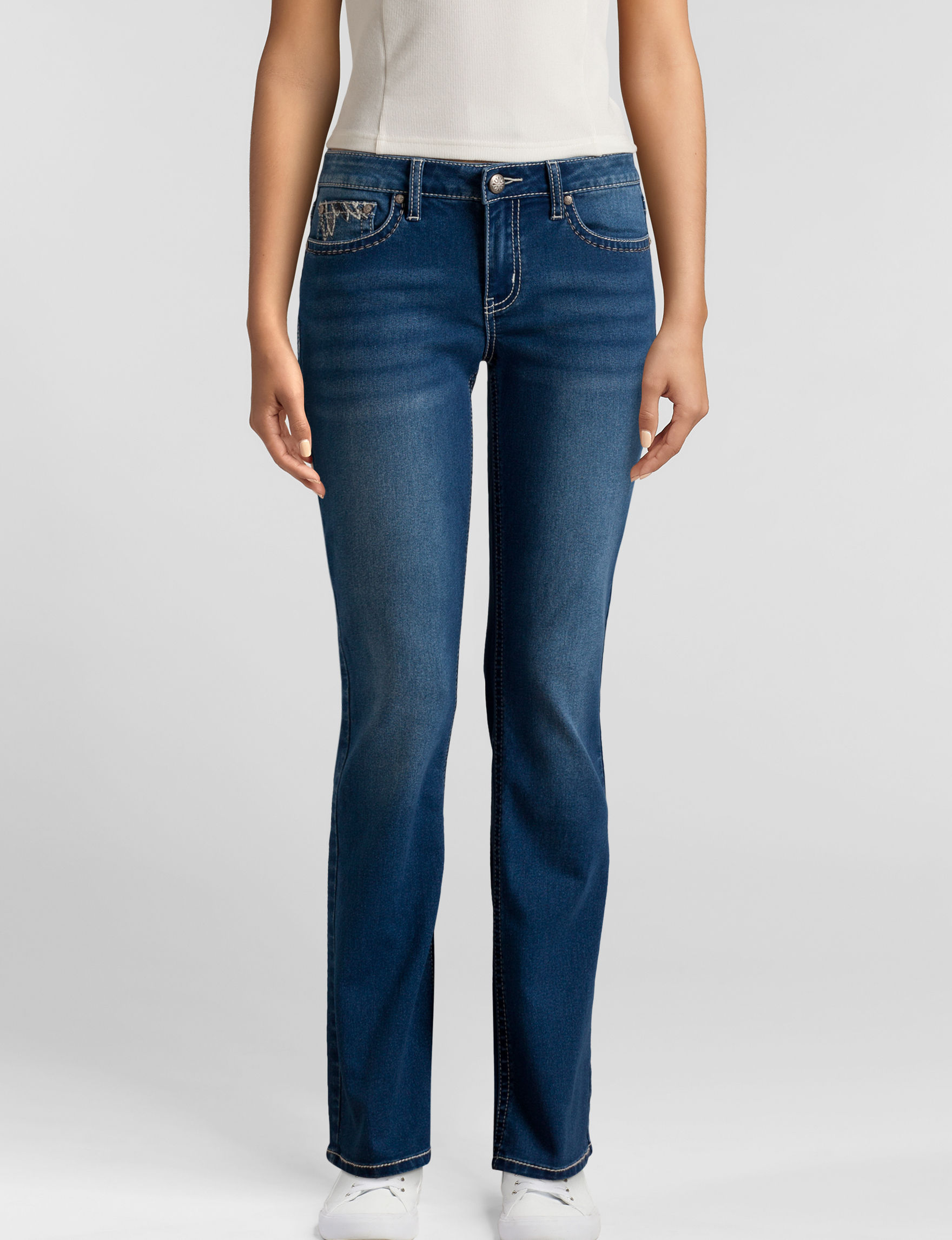Sound Girl Medium Blue Bootcut