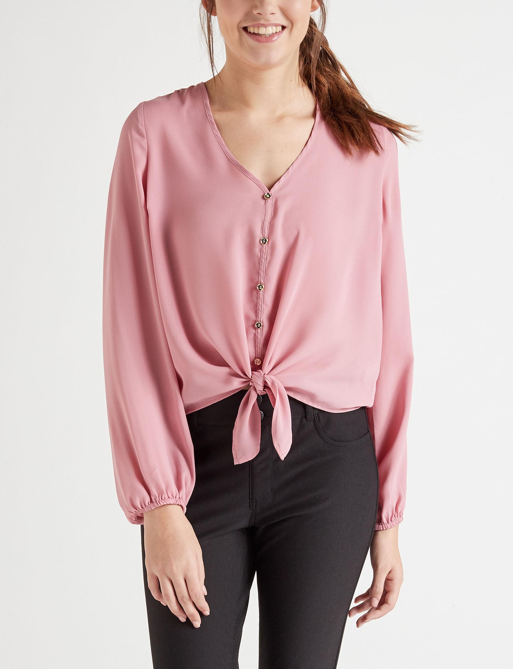 Wishful Park Blush Shirts & Blouses