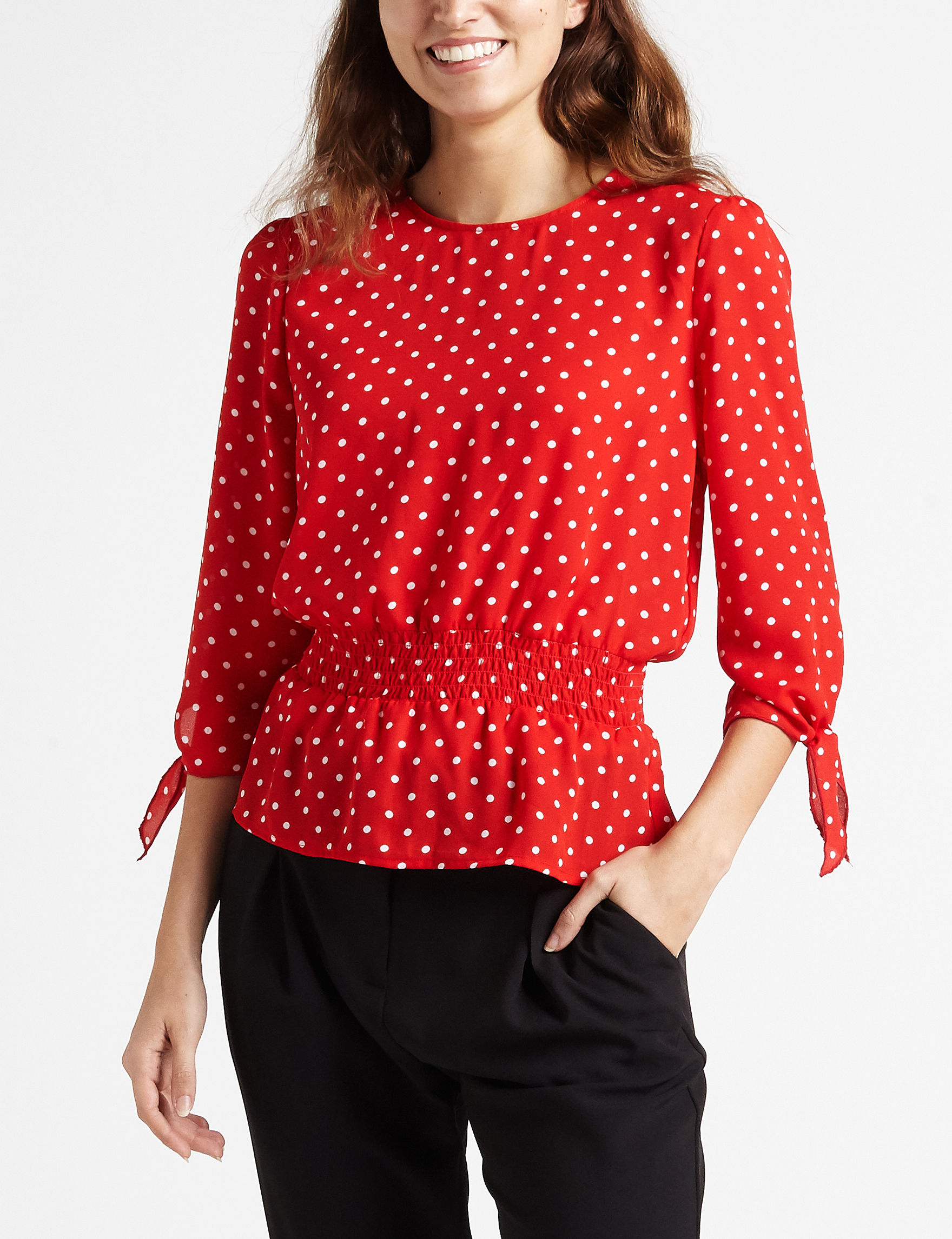 Wishful Park Red Shirts & Blouses