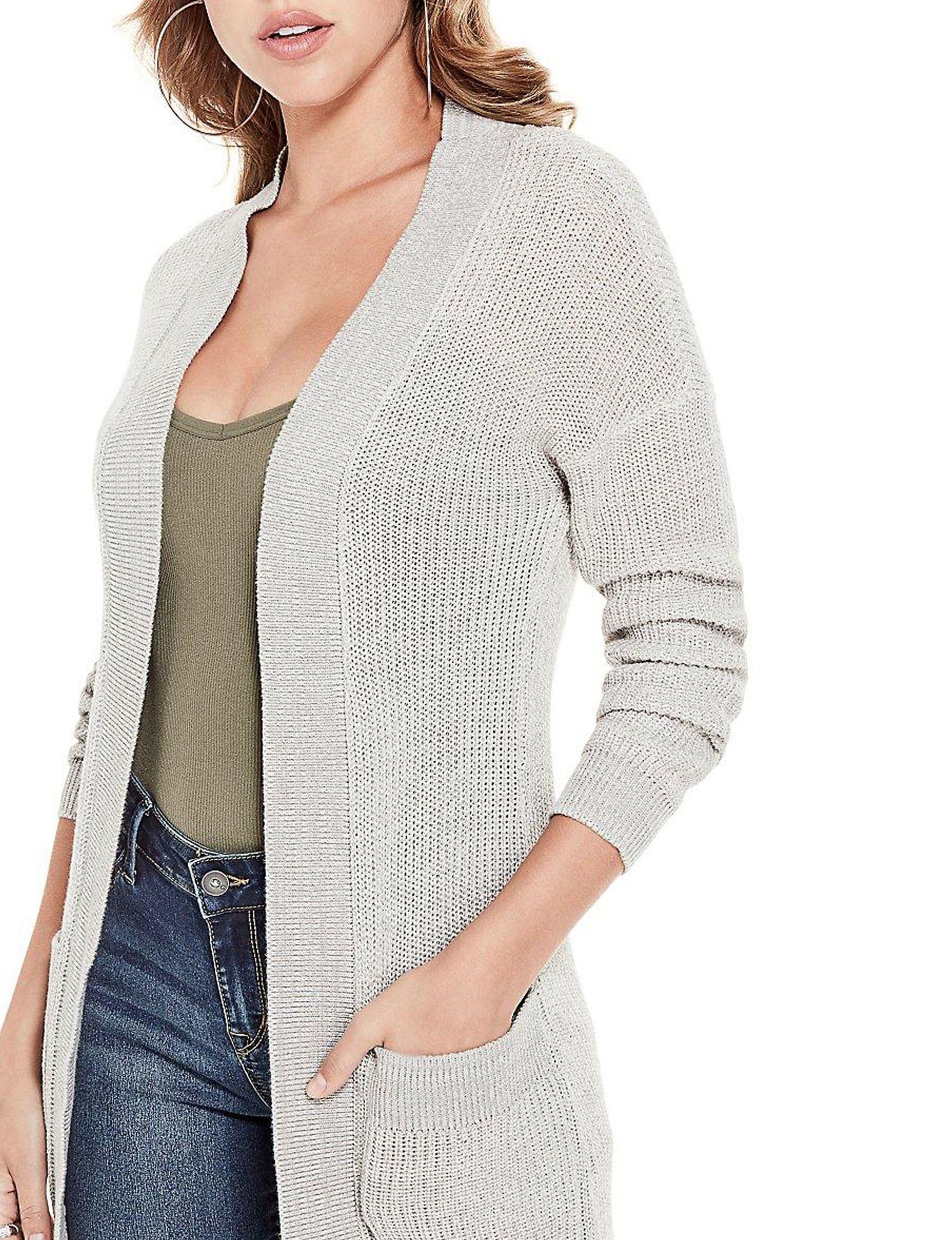 G by Guess Grey Cardigans