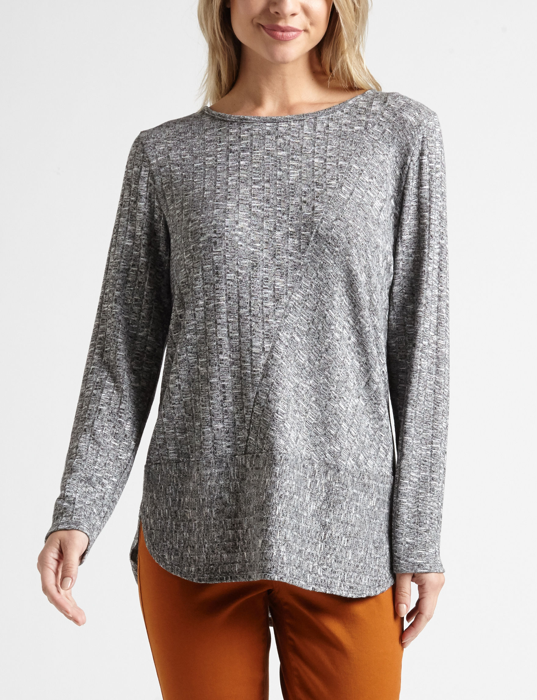 AGB Grey Shirts & Blouses