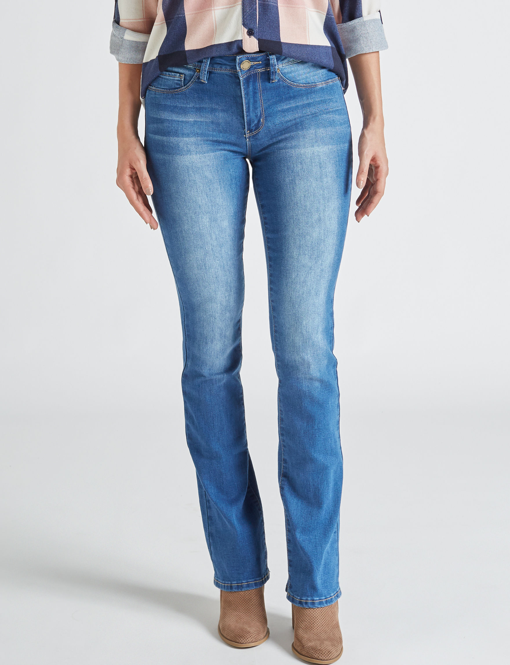 YMI Medium Blue Bootcut