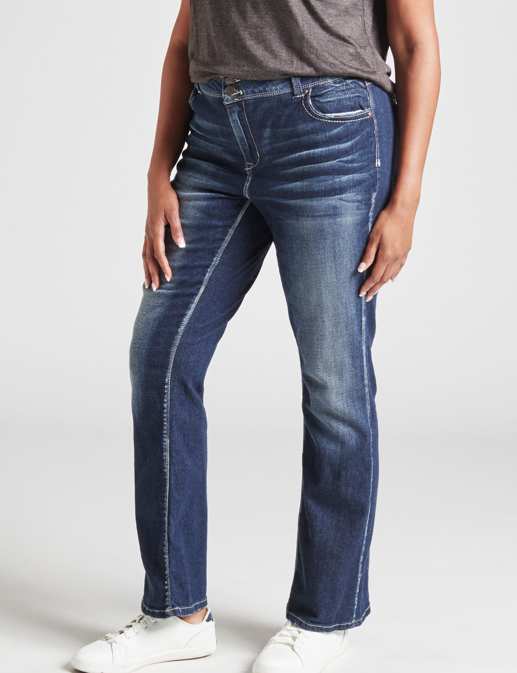 Almost Famous Dark Blue Bootcut
