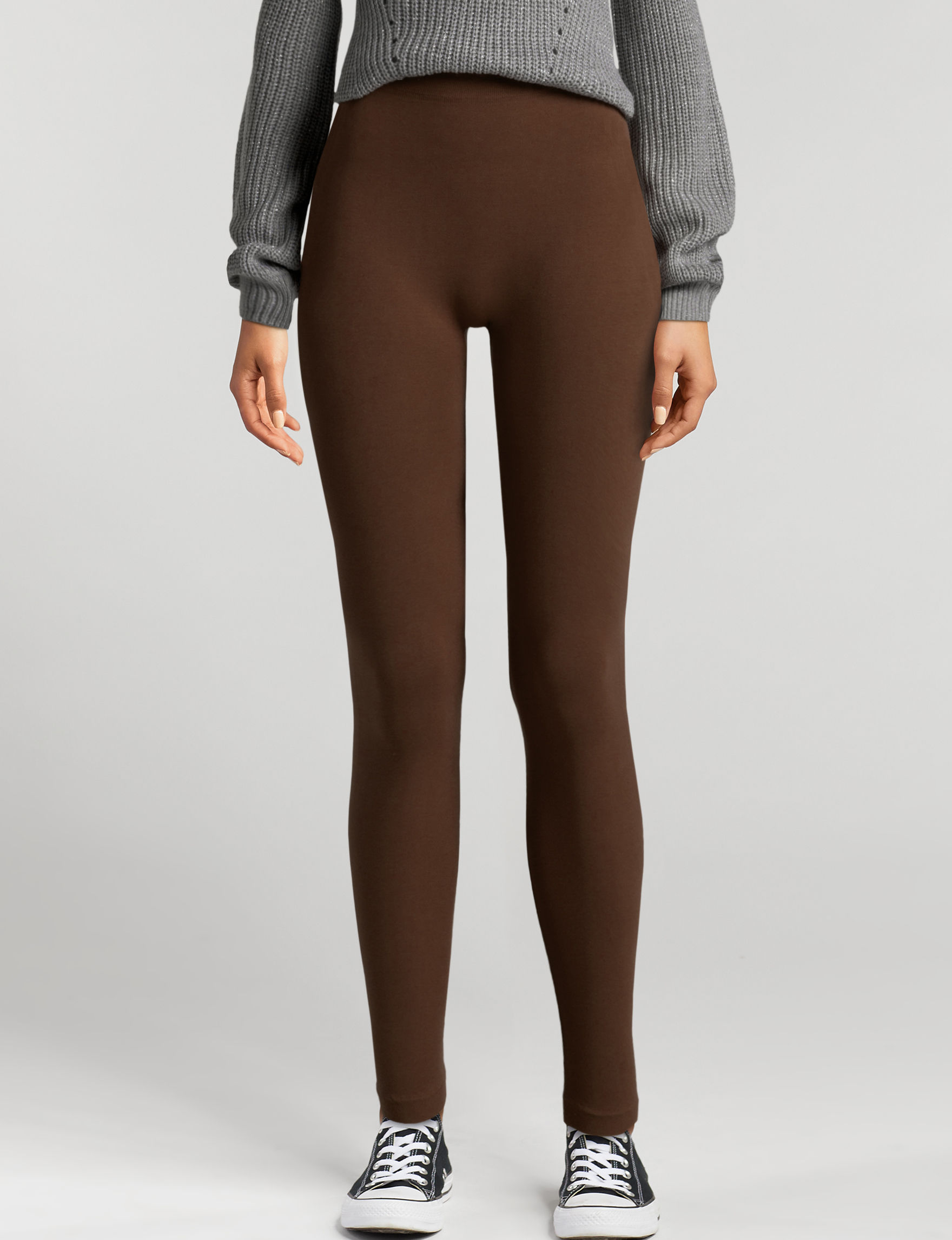 Moral Fiber Brown Leggings