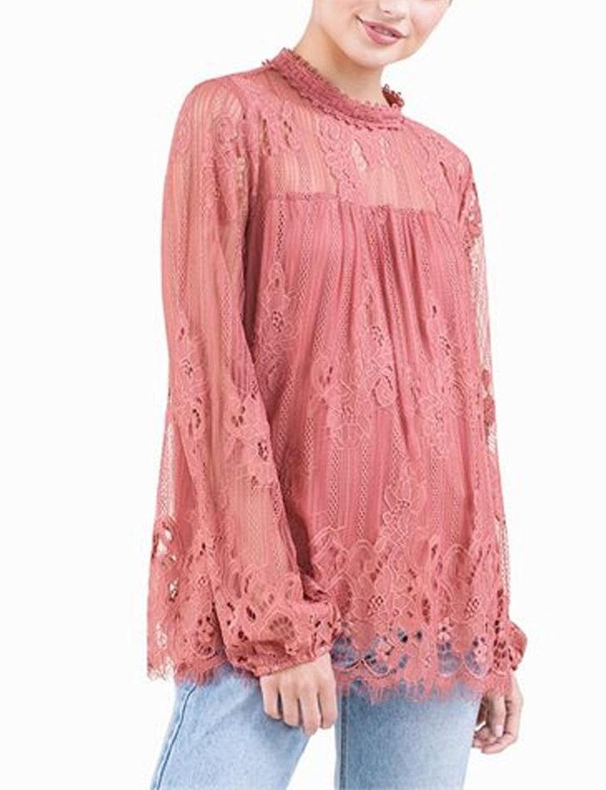Taylor & Sage Rose Shirts & Blouses