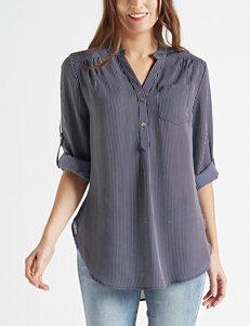 78525de27d717 Wishful Park Navy   White Shirts   Blouses