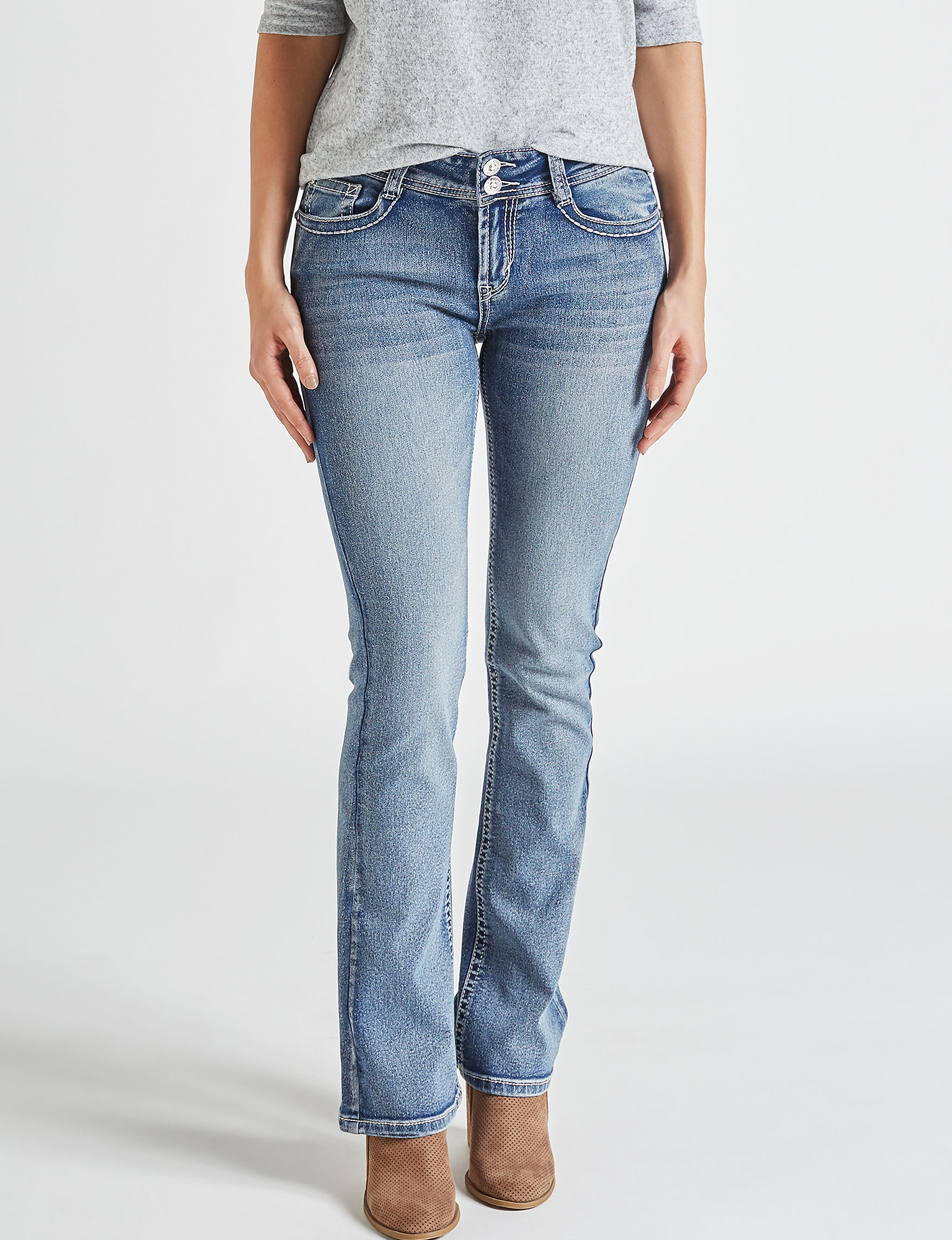 WallFlower Blue Bootcut