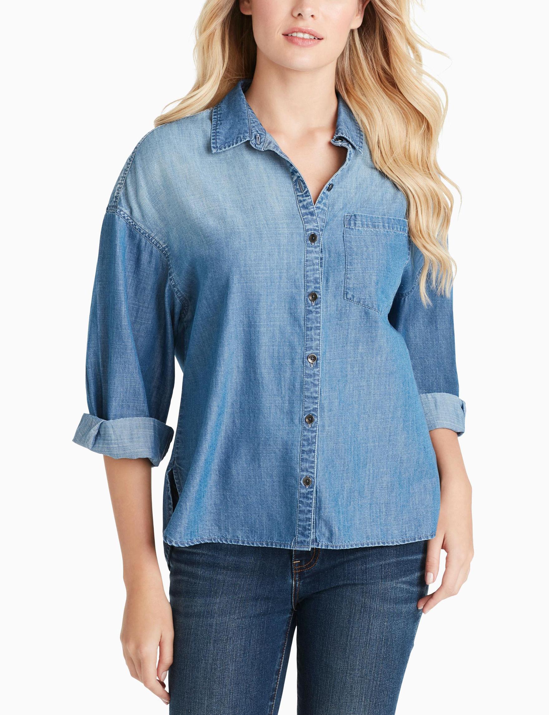 Jessica Simpson Denim / Blue Shirts & Blouses