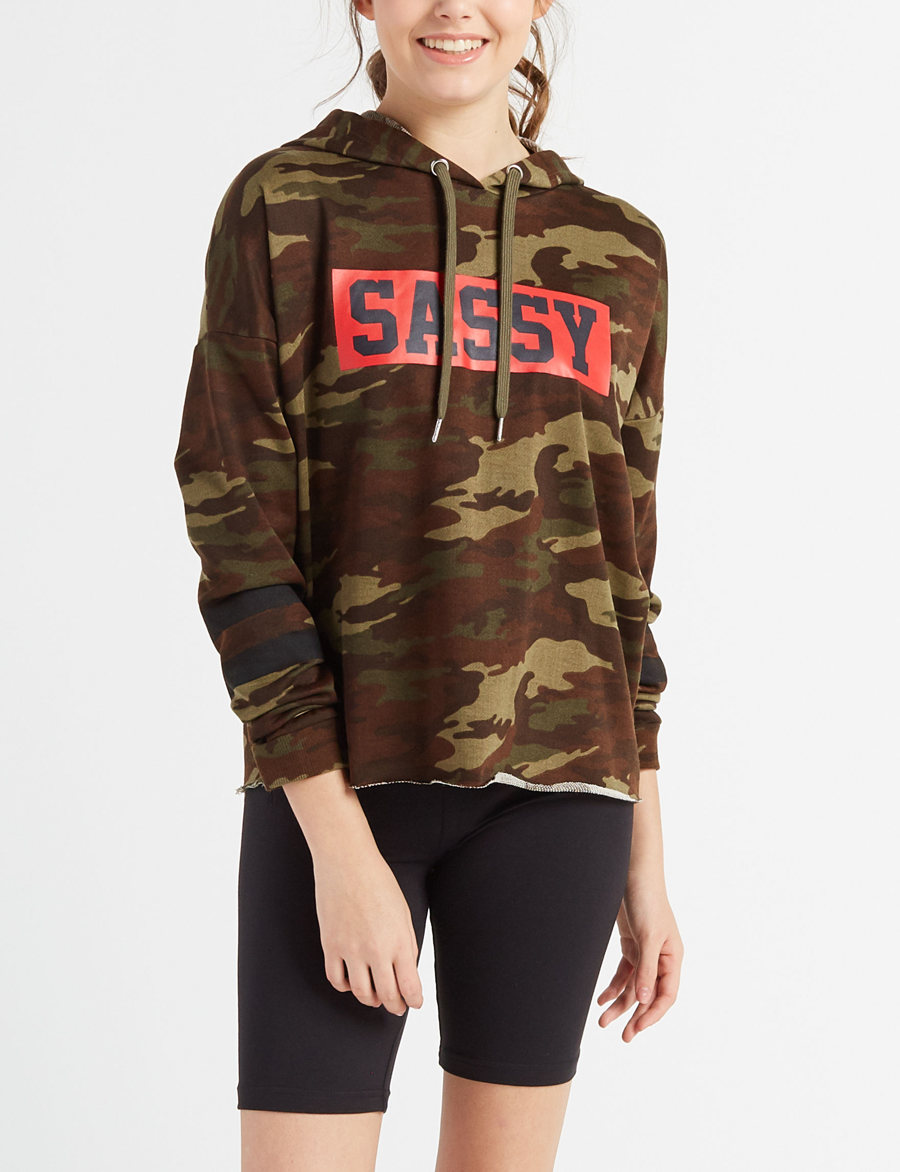 Justify Camo Pull-overs