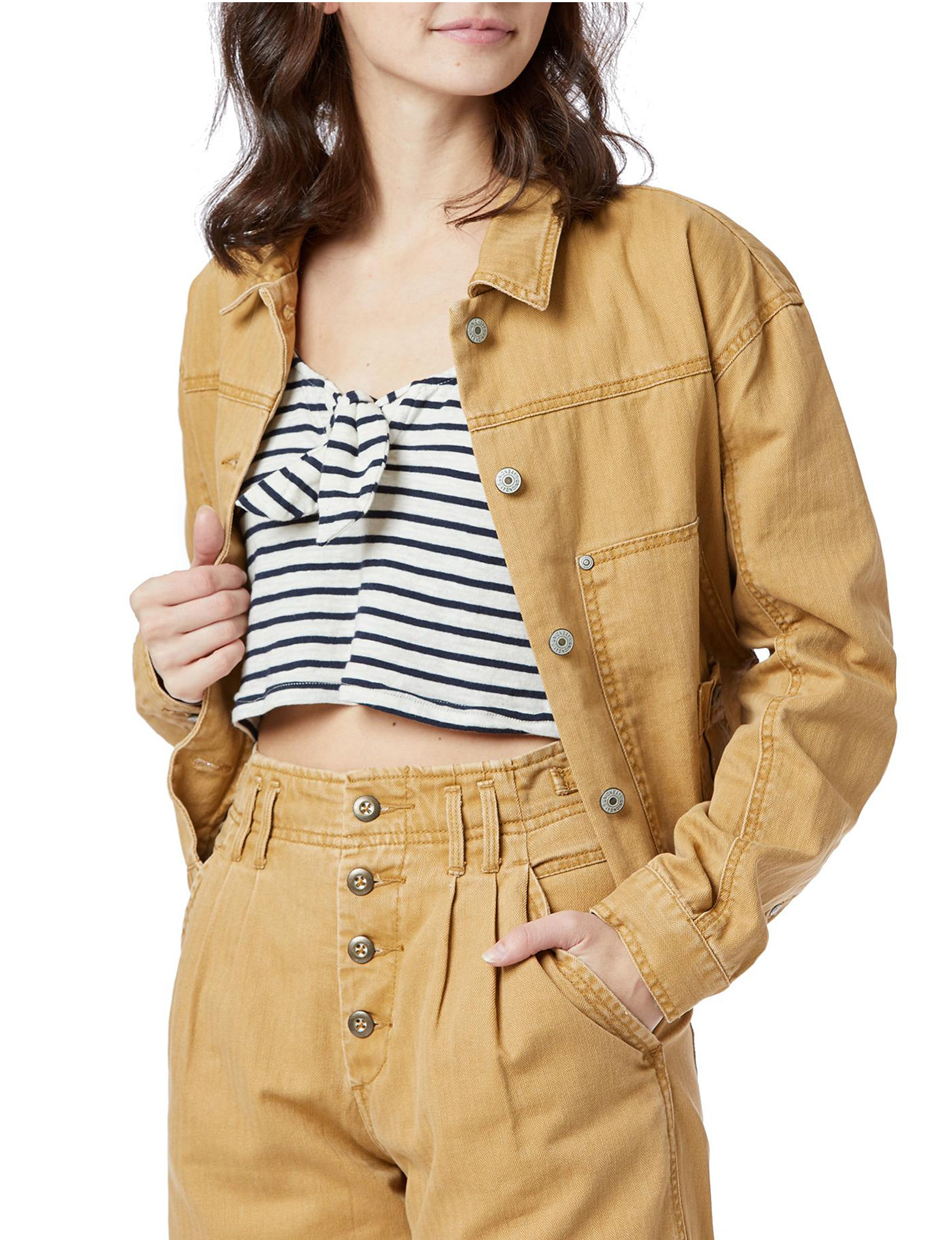 Unionbay Khaki Lightweight Jackets & Blazers