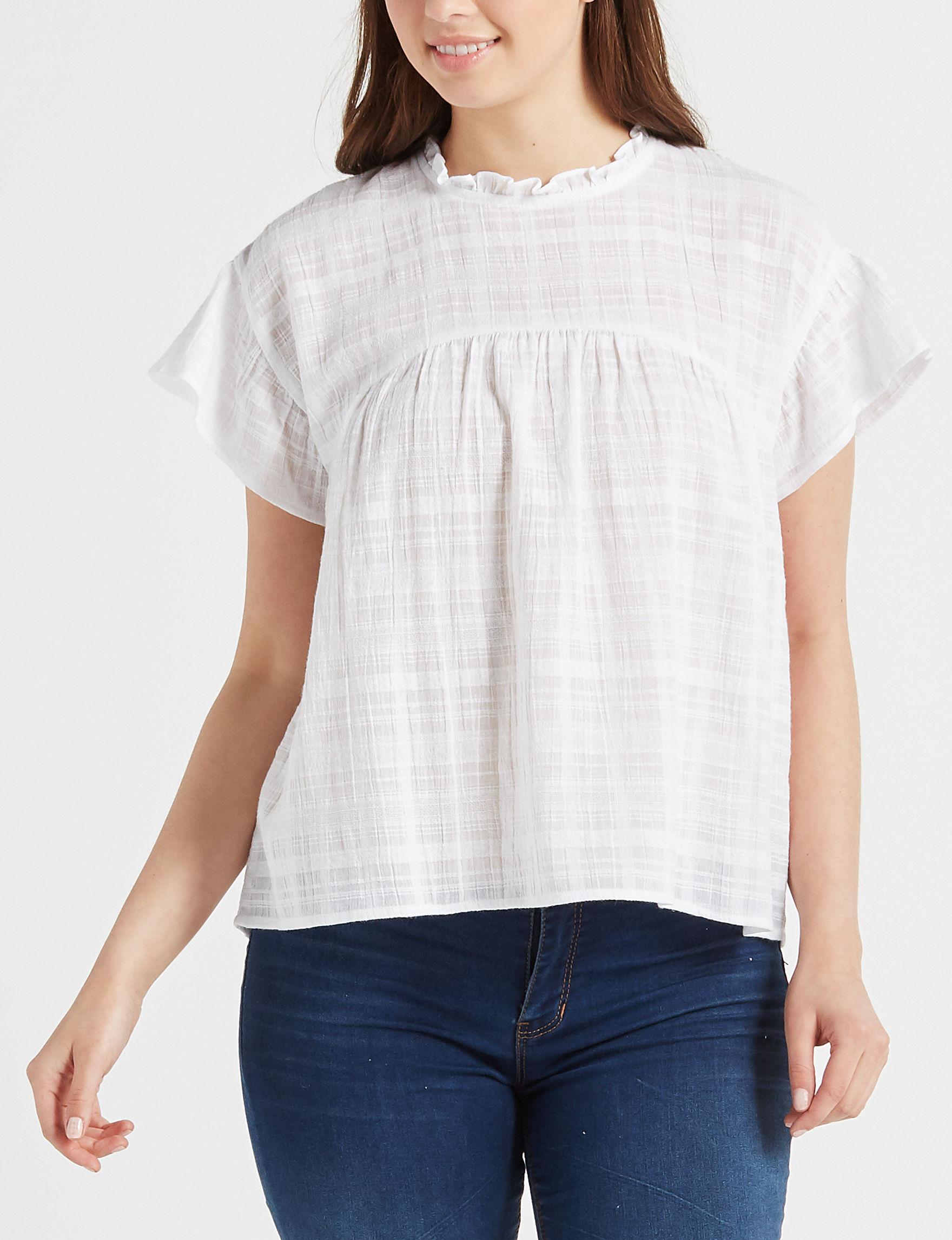 Eyeshadow White Shirts & Blouses