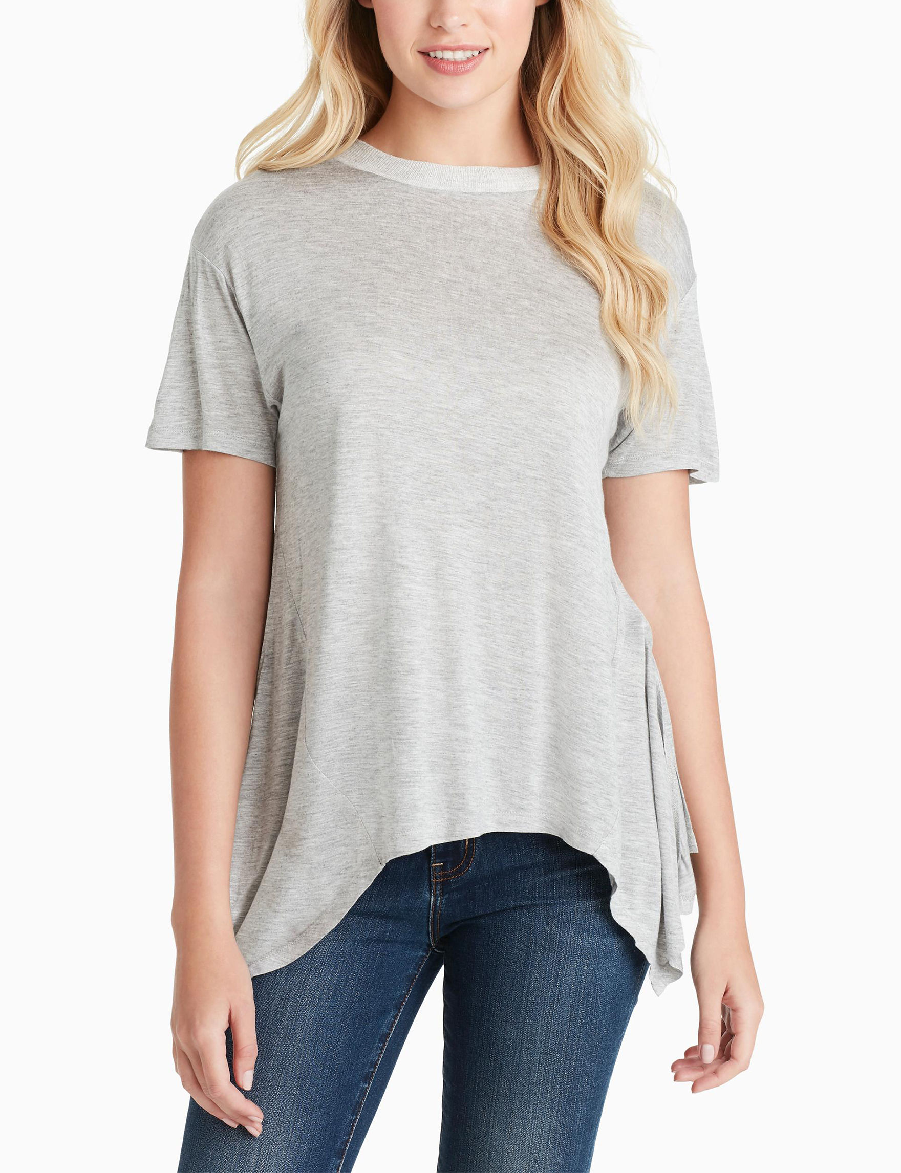 Jessica Simpson Light Grey Shirts & Blouses