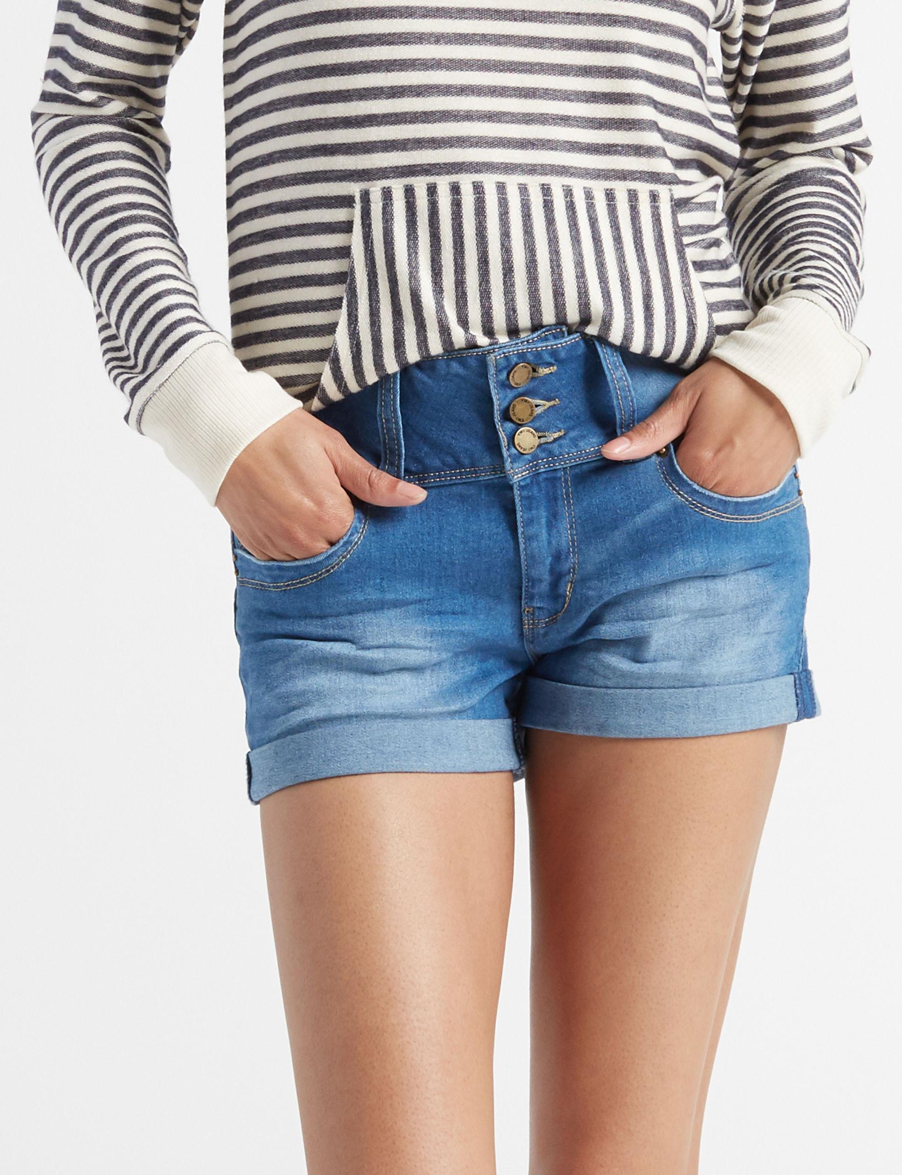 YMI Blue Denim Shorts