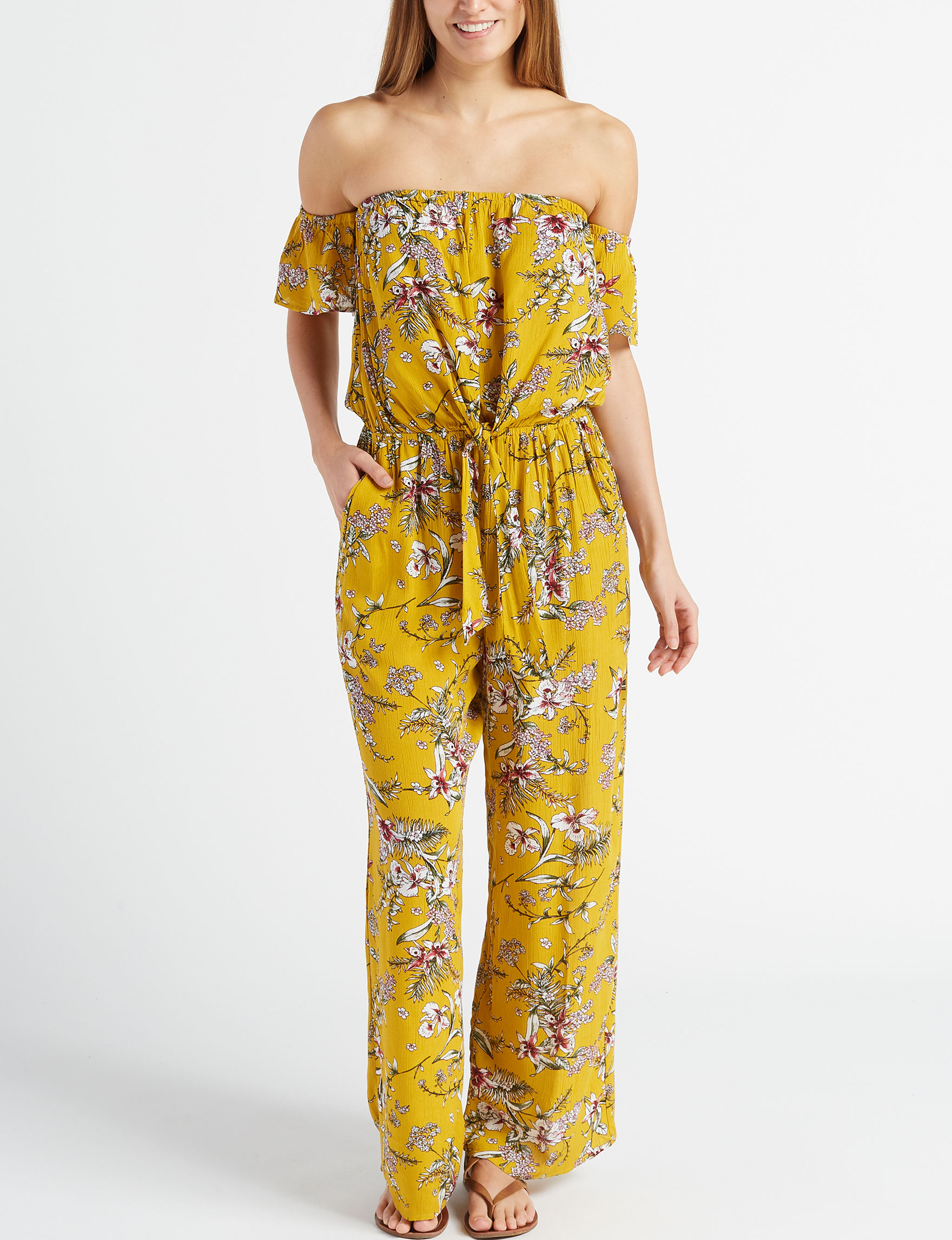 Cure Mustard Floral