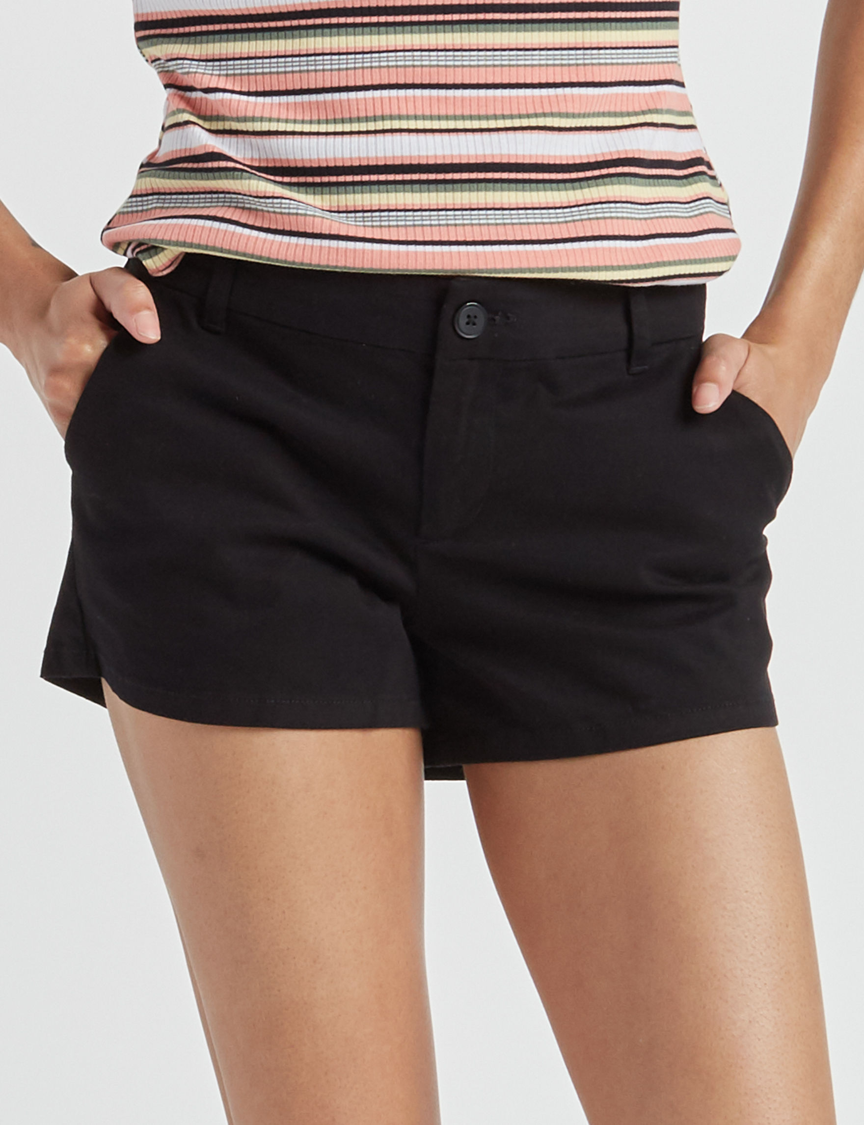 Wishful Park Black Tailored Shorts