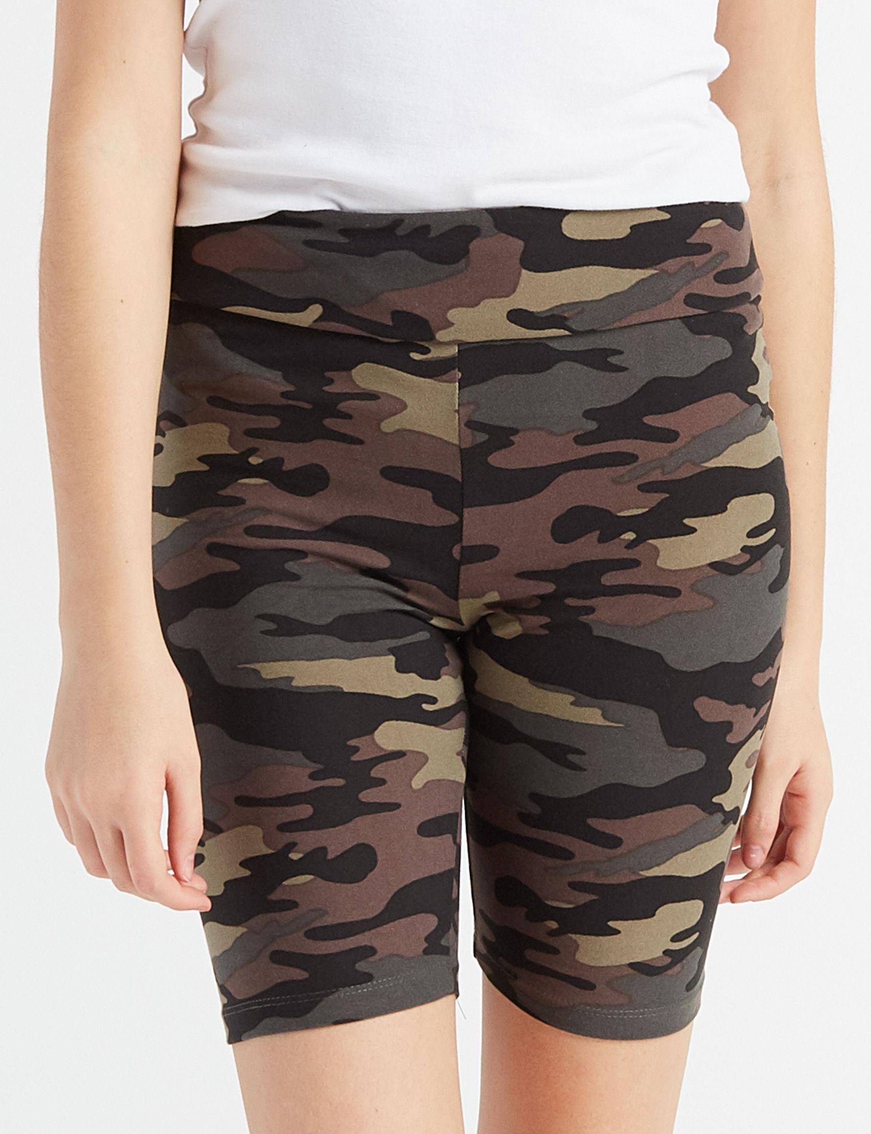 Wishful Park Camo Biker Shorts