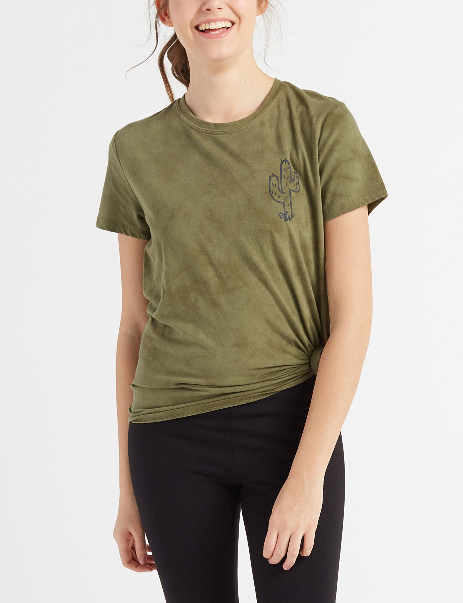 Cold Crush Olive Tees & Tanks