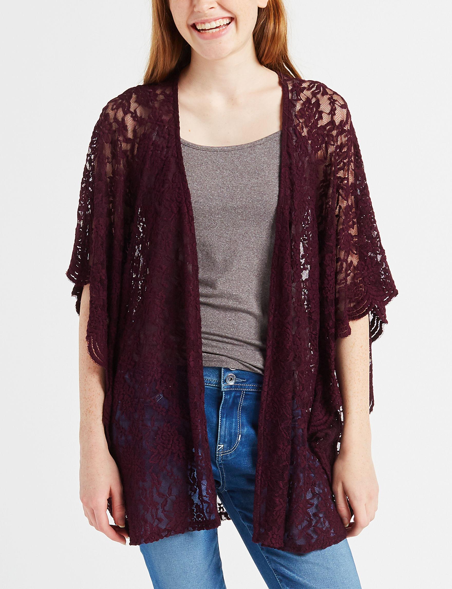 Liberty Love Plum Kimonos & Toppers
