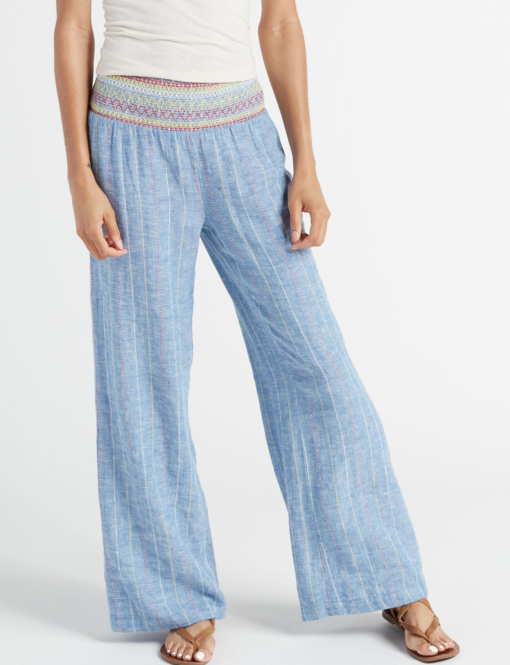 Indigo Rein Medium Blue Soft Pants