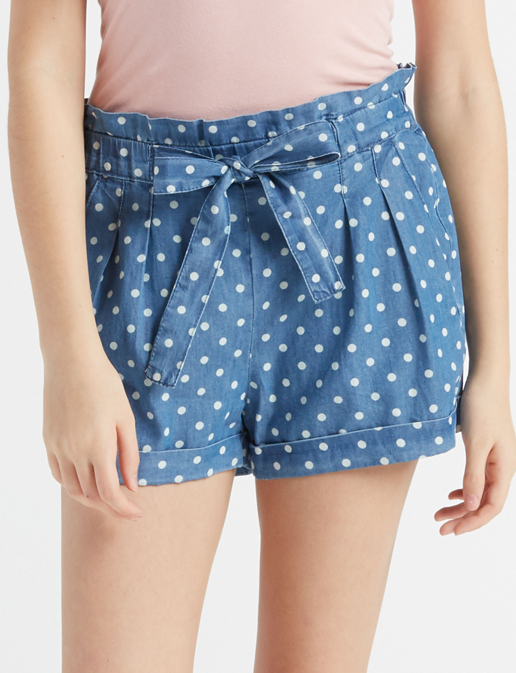 Almost Famous Blue Soft Shorts