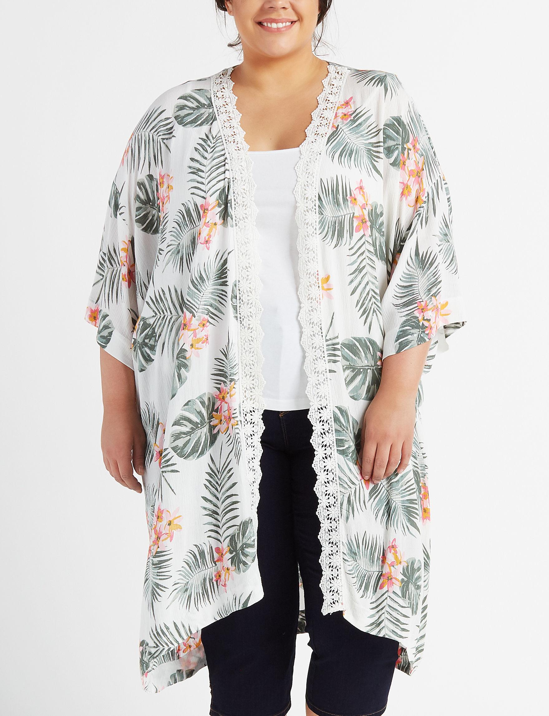 Moral Fiber Ivory Kimonos & Toppers