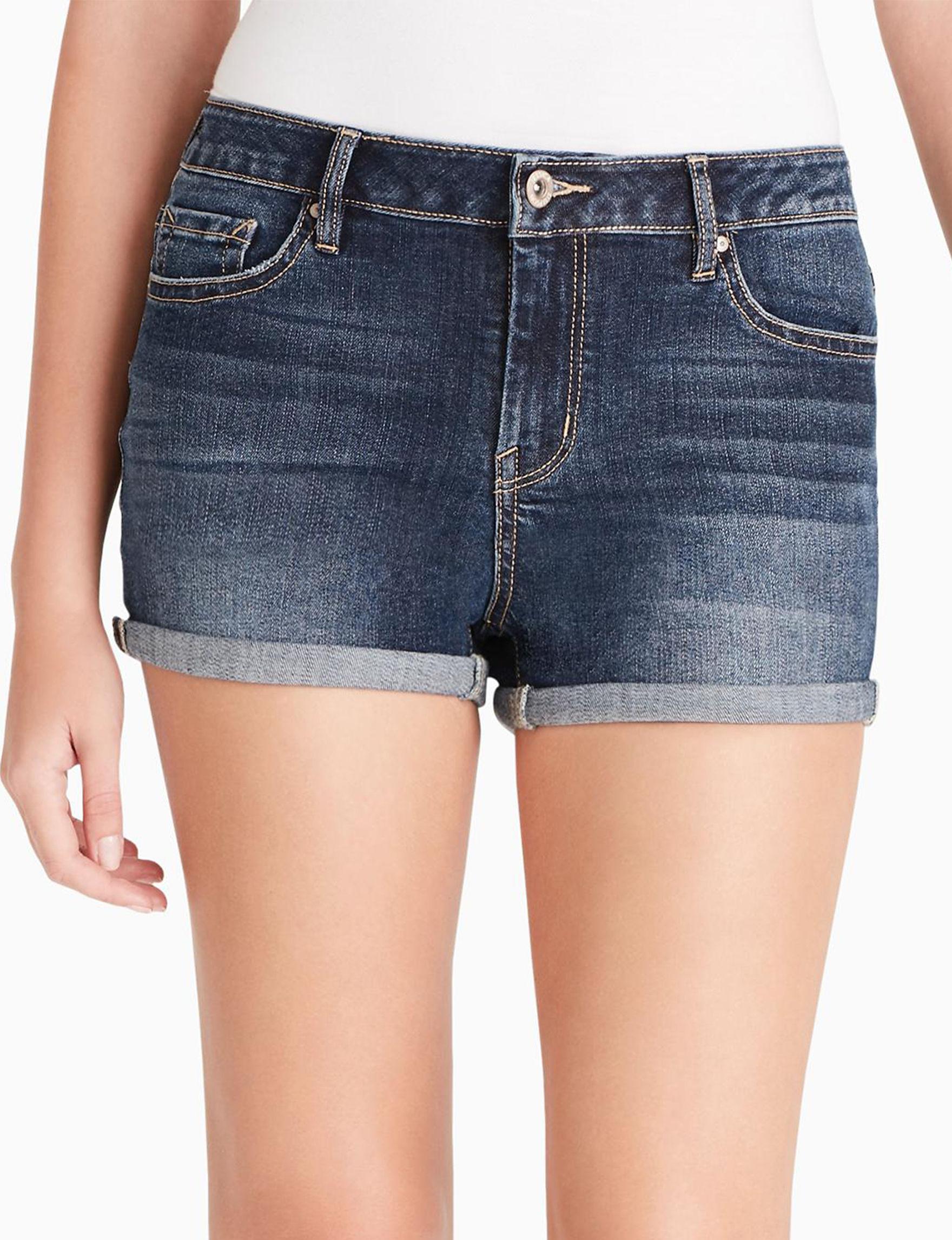 Jessica Simpson Dark Blue Denim Shorts