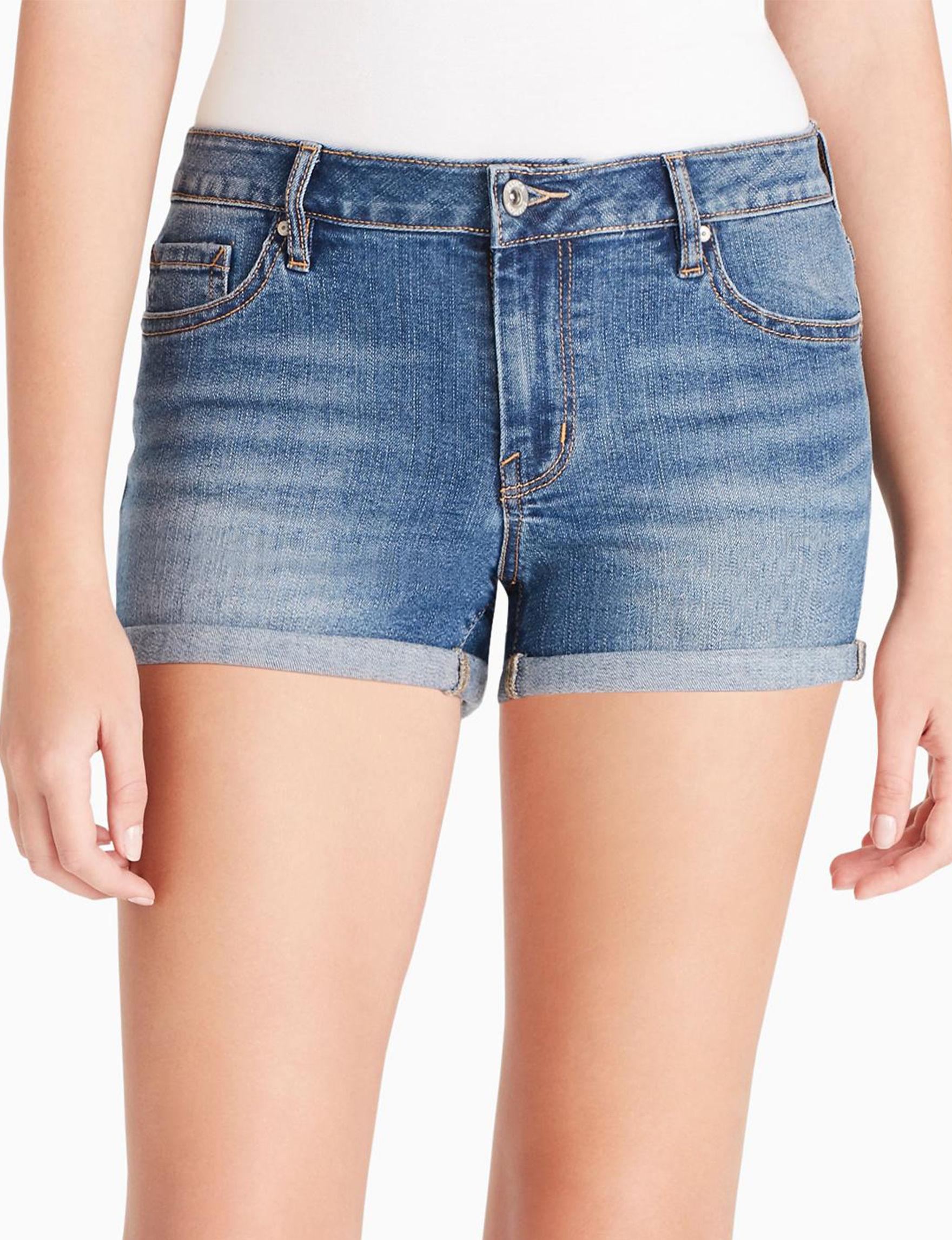 Jessica Simpson Medium Blue Denim Shorts