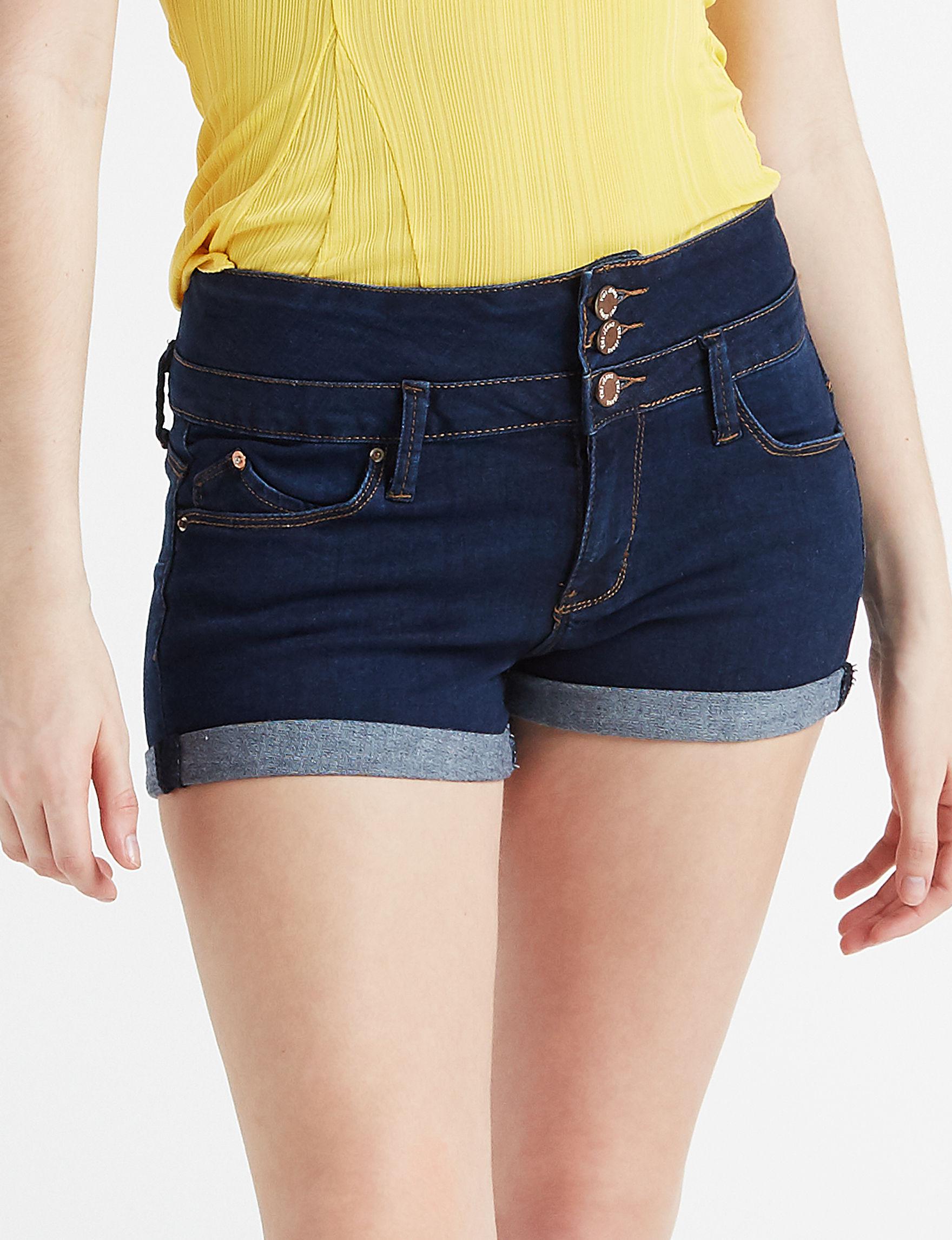 YMI Dark Blue Denim Shorts