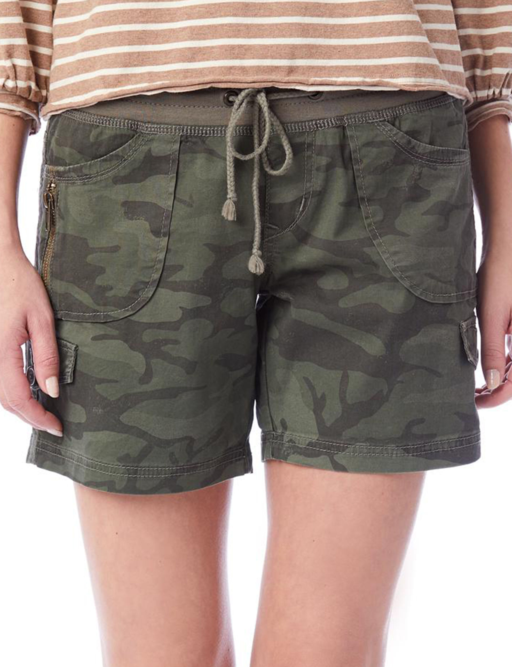 Unionbay Olive Soft Shorts