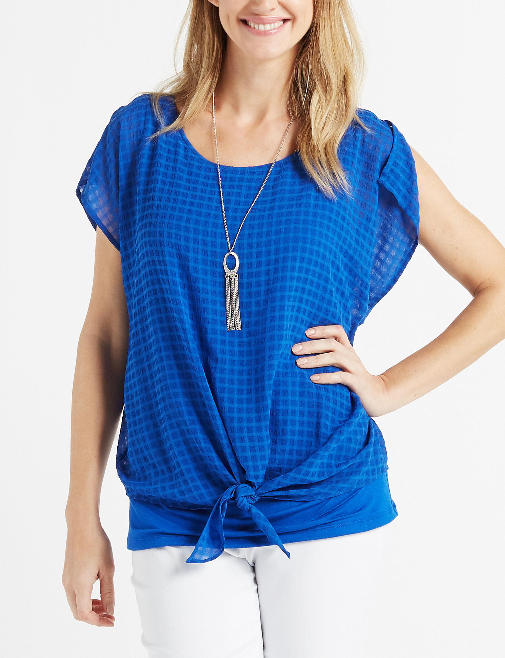 AGB Royal Blue Shirts & Blouses