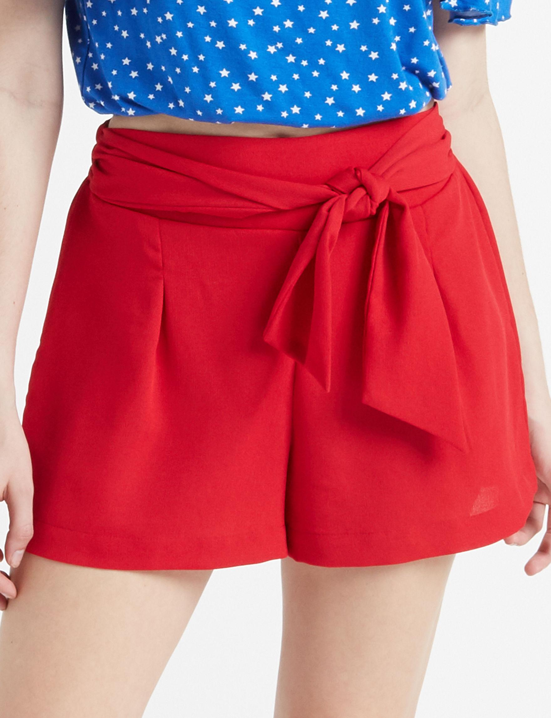 BeBop Red Soft Shorts