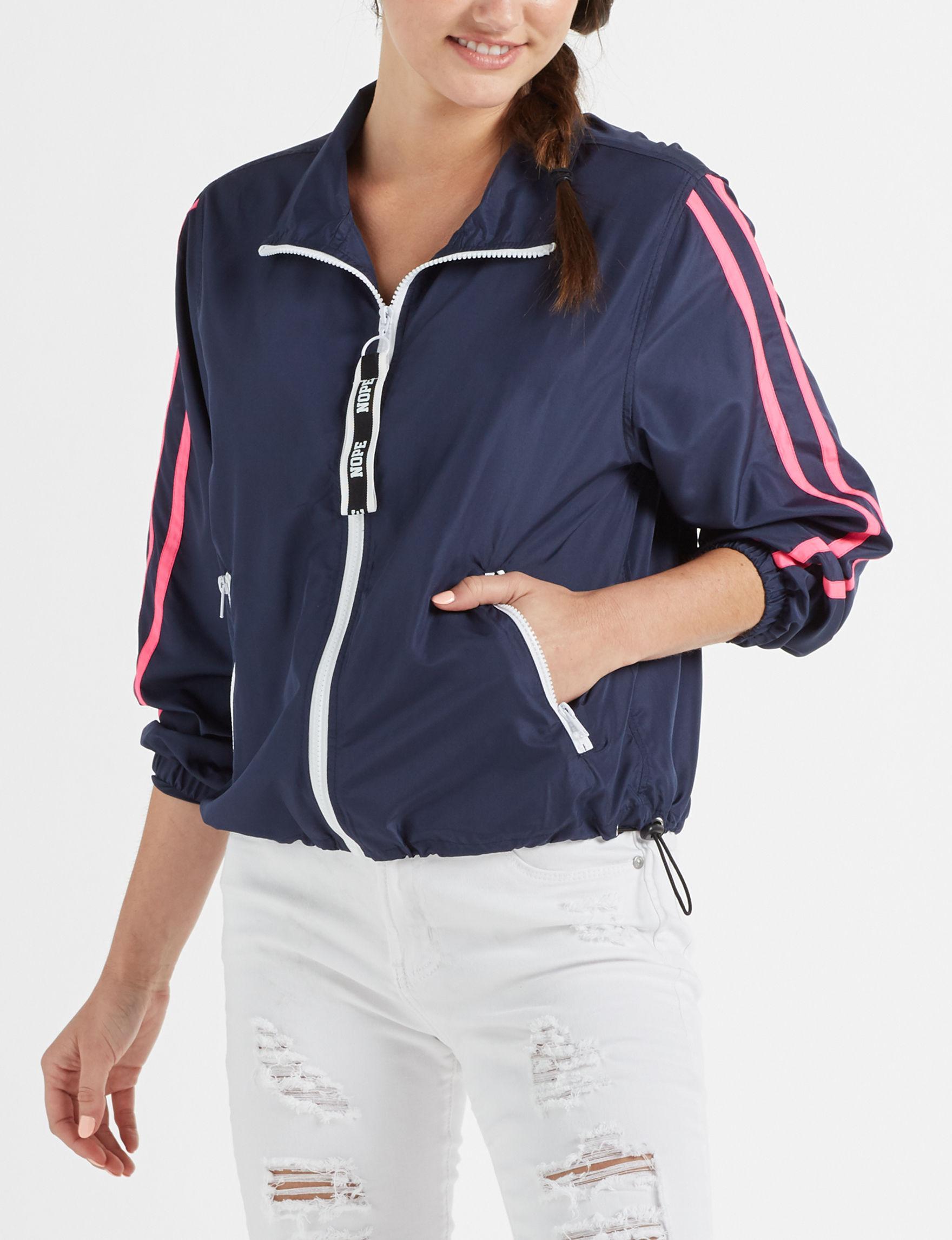 Justify Navy Lightweight Jackets & Blazers