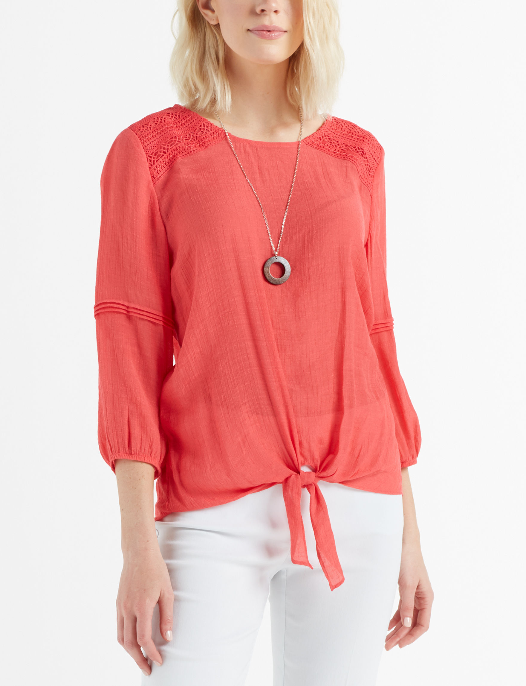 AGB Hibiscus Shirts & Blouses