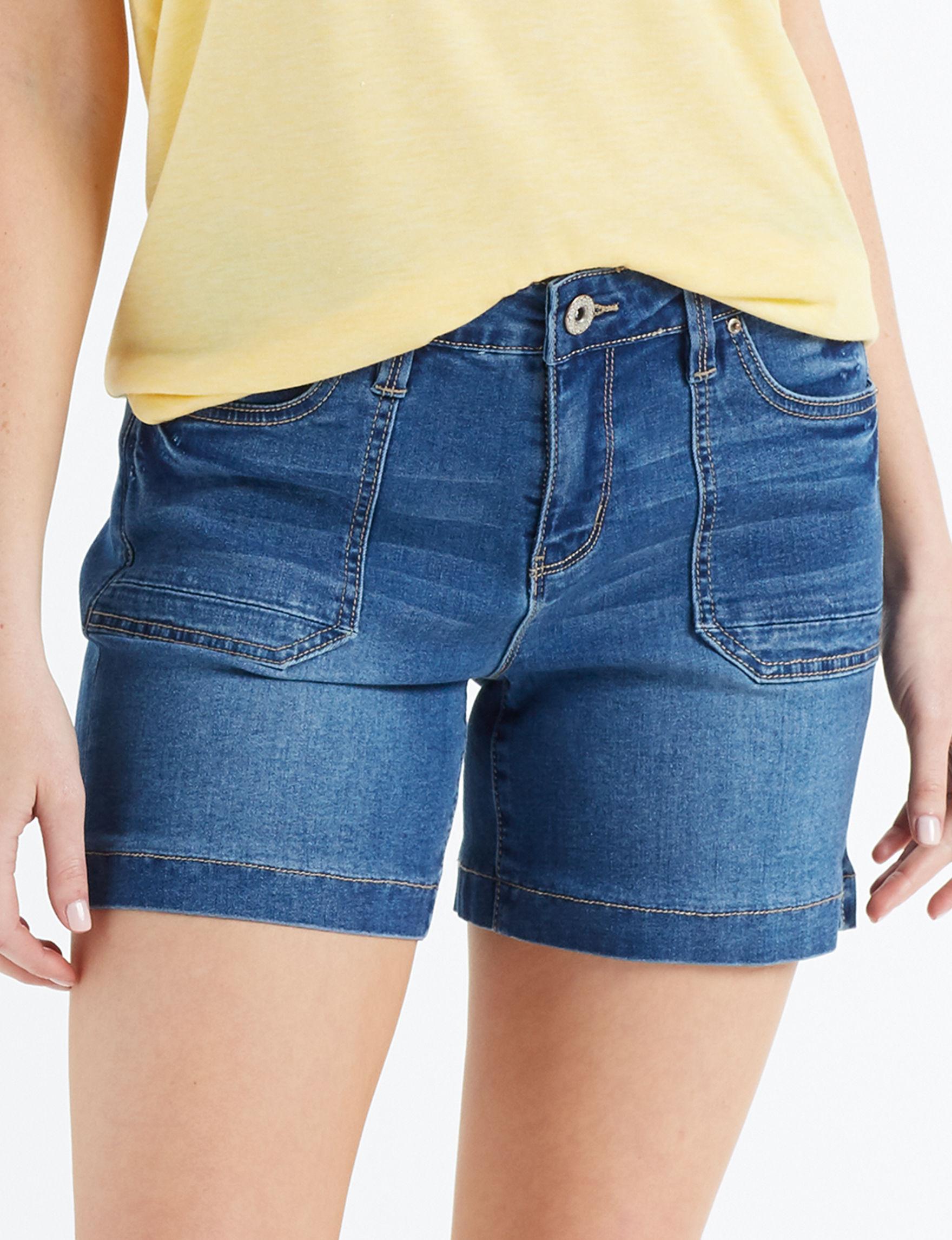 Signature Studio Blue Denim Shorts