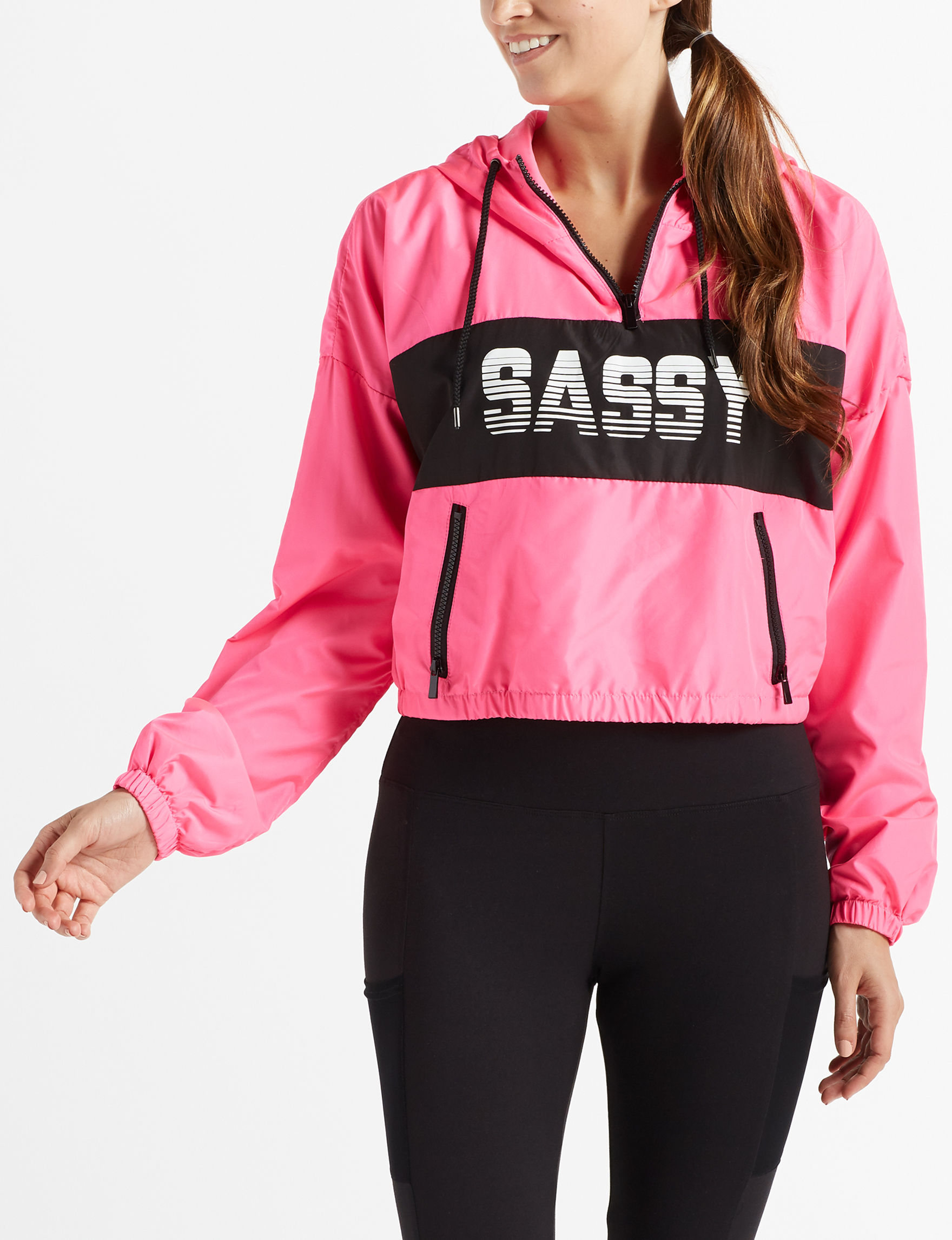 Justify Pink Lightweight Jackets & Blazers