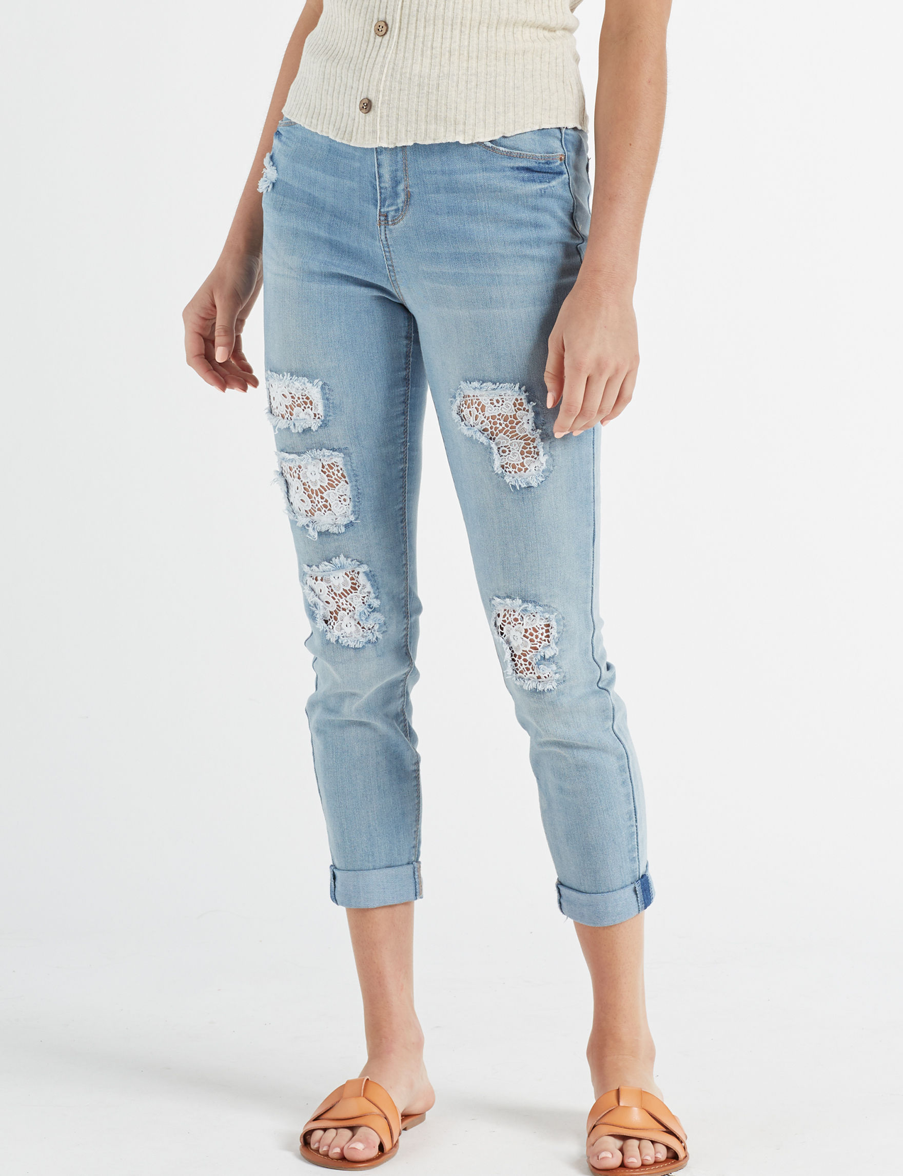 Vanilla Star Light Blue Skinny