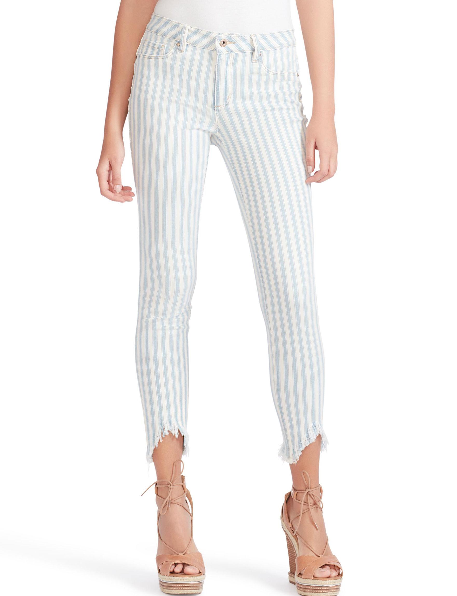 Jessica Simpson Blue Stripe Skinny