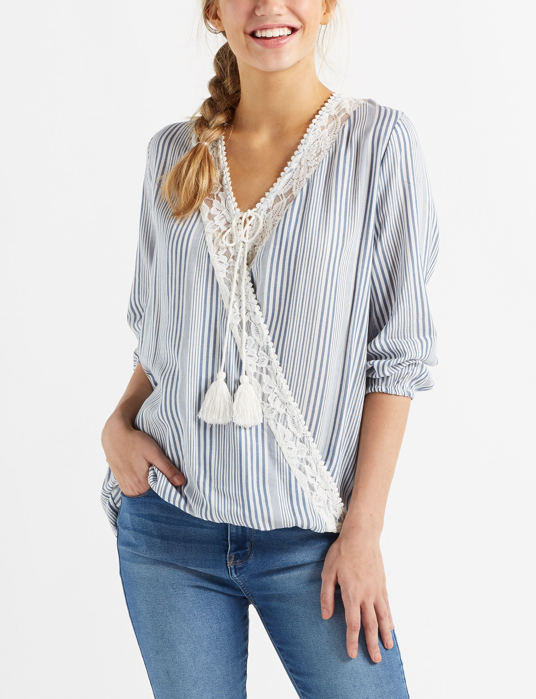 Taylor & Sage Slate Shirts & Blouses